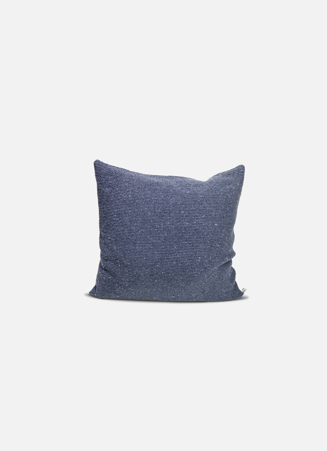 By Mölle – Denim cushion – granite – 50x50cm