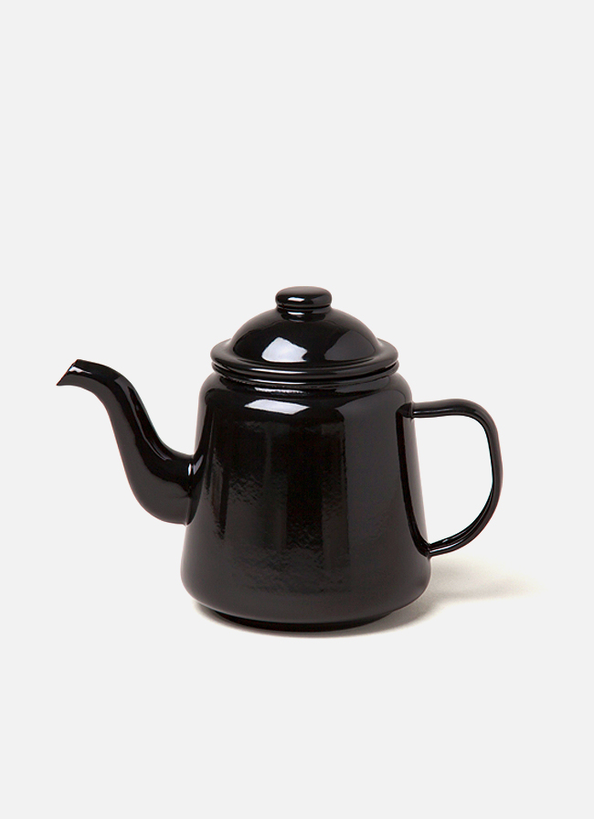 Falcon Enamelware Tea Pot Coal Black