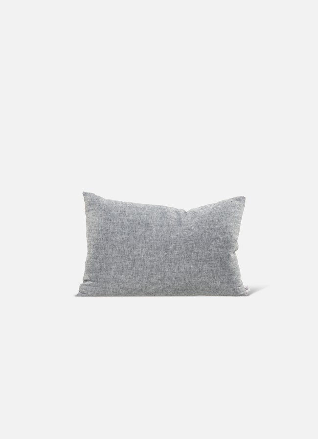 By Mölle - Linen cushion - pebble - 40x80cm