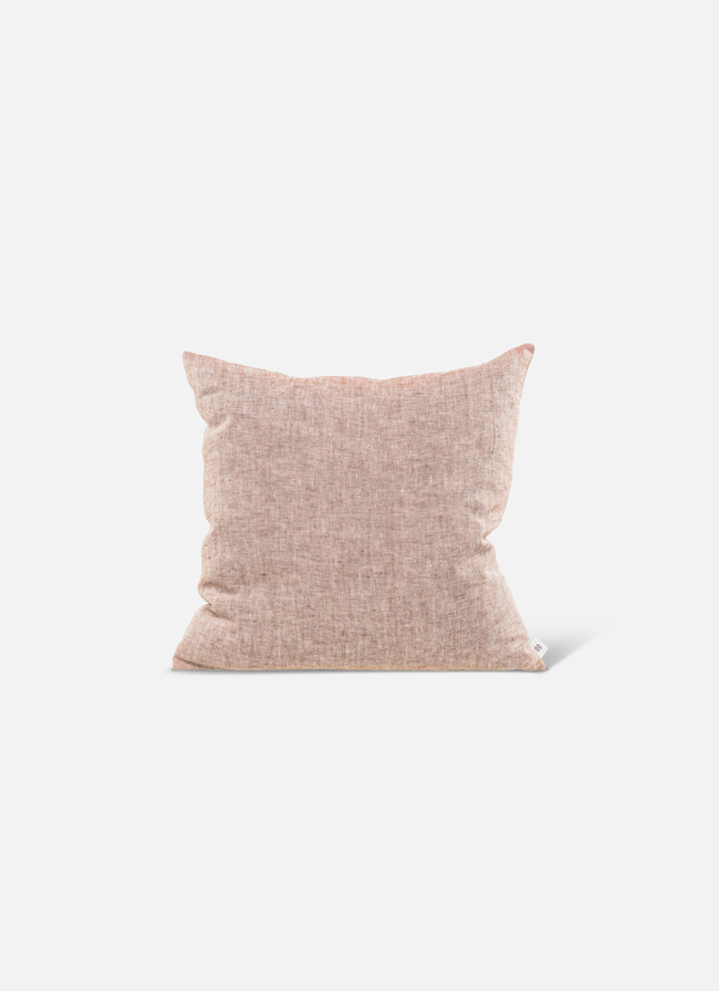 By Mölle – Linen cushion – pink salt – 50x50cm