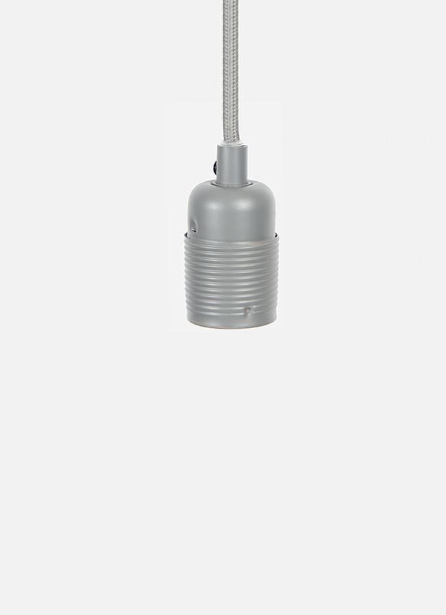 Frama – E27 Pendant – grey cord/grey