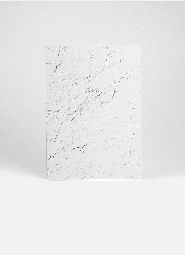 Studio of Basic Design – Notebook A5 – 128 pages – White Stone