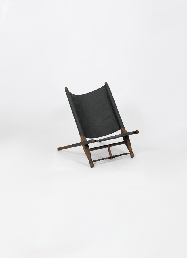 OGK Chair – black linen