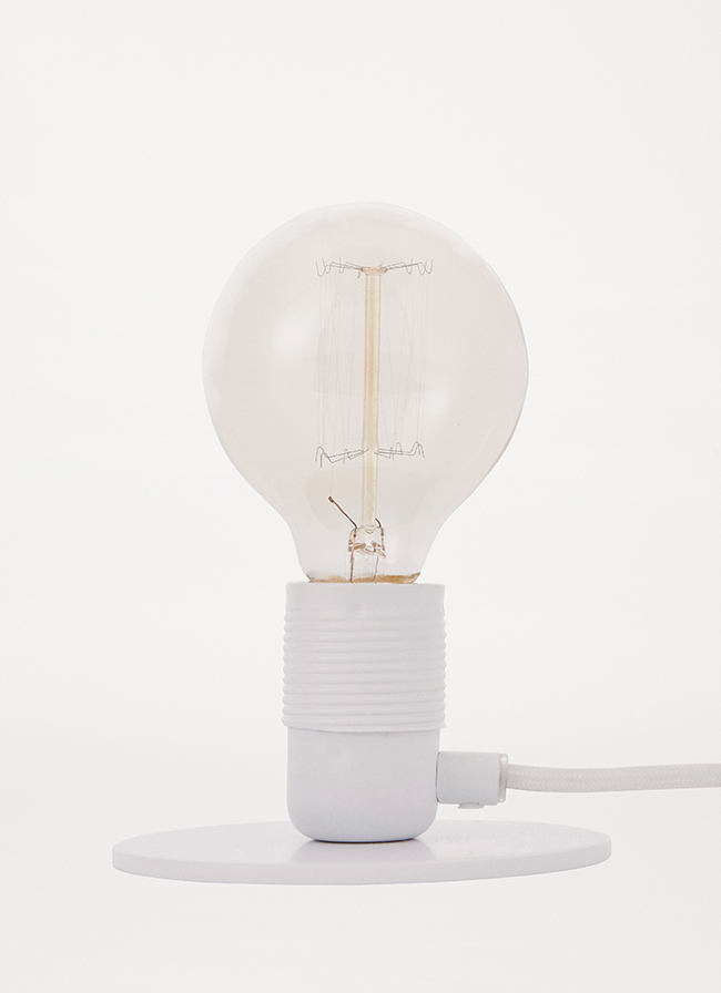 Frama – E27 Table Light – Limited Edition – White