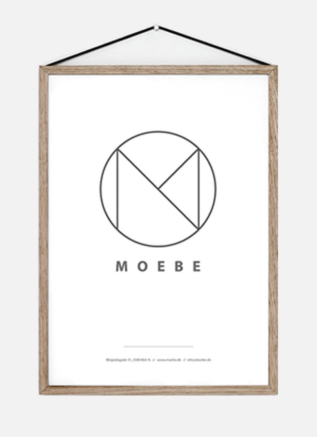 Moebe Frame – Oak – xlarge