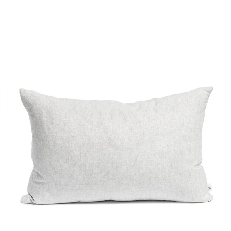 By Mölle - Linen cushion - misty grey - 40x80cm