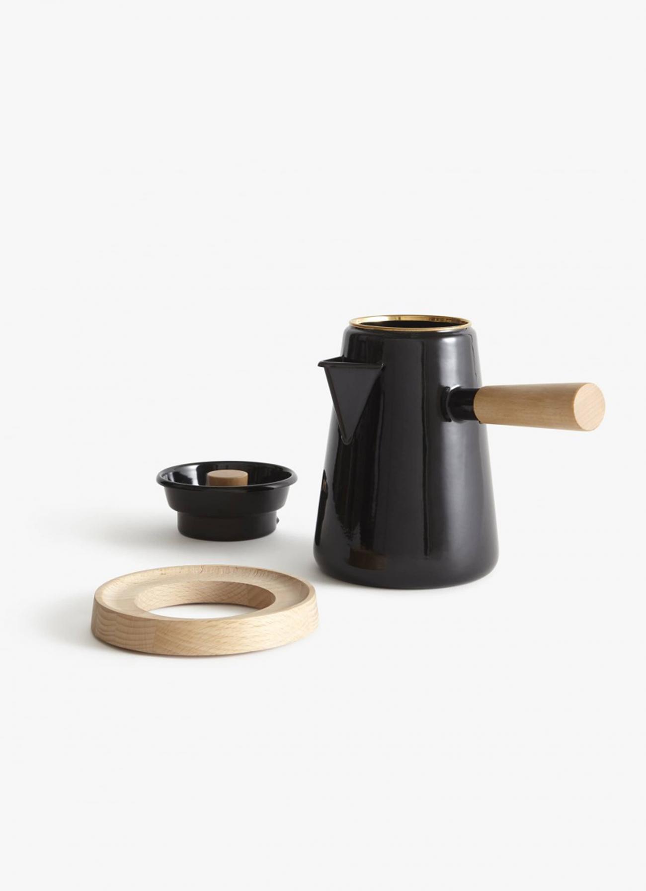 Castor - Cowboy Coffee Kettle - black