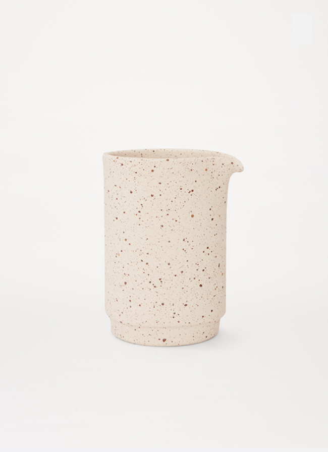 Frama - Otto - Special Edition - Speckled Raw white - Medium Jug