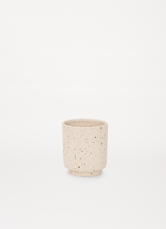 Frama - Aj Otto - Cup - Special Edition - speckled raw white