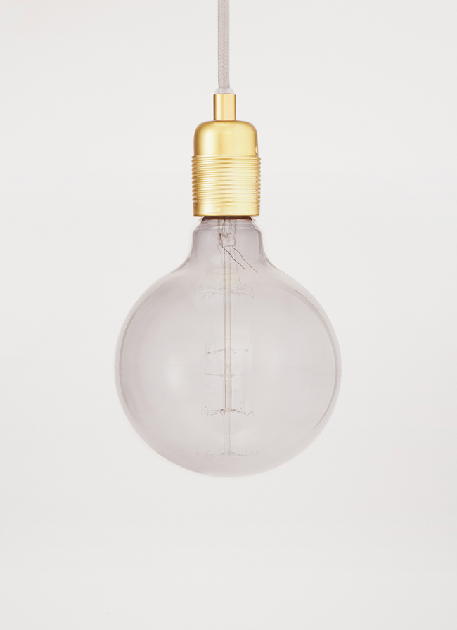 Frama - Atelier light – LED Bulb Globe Smoke 125