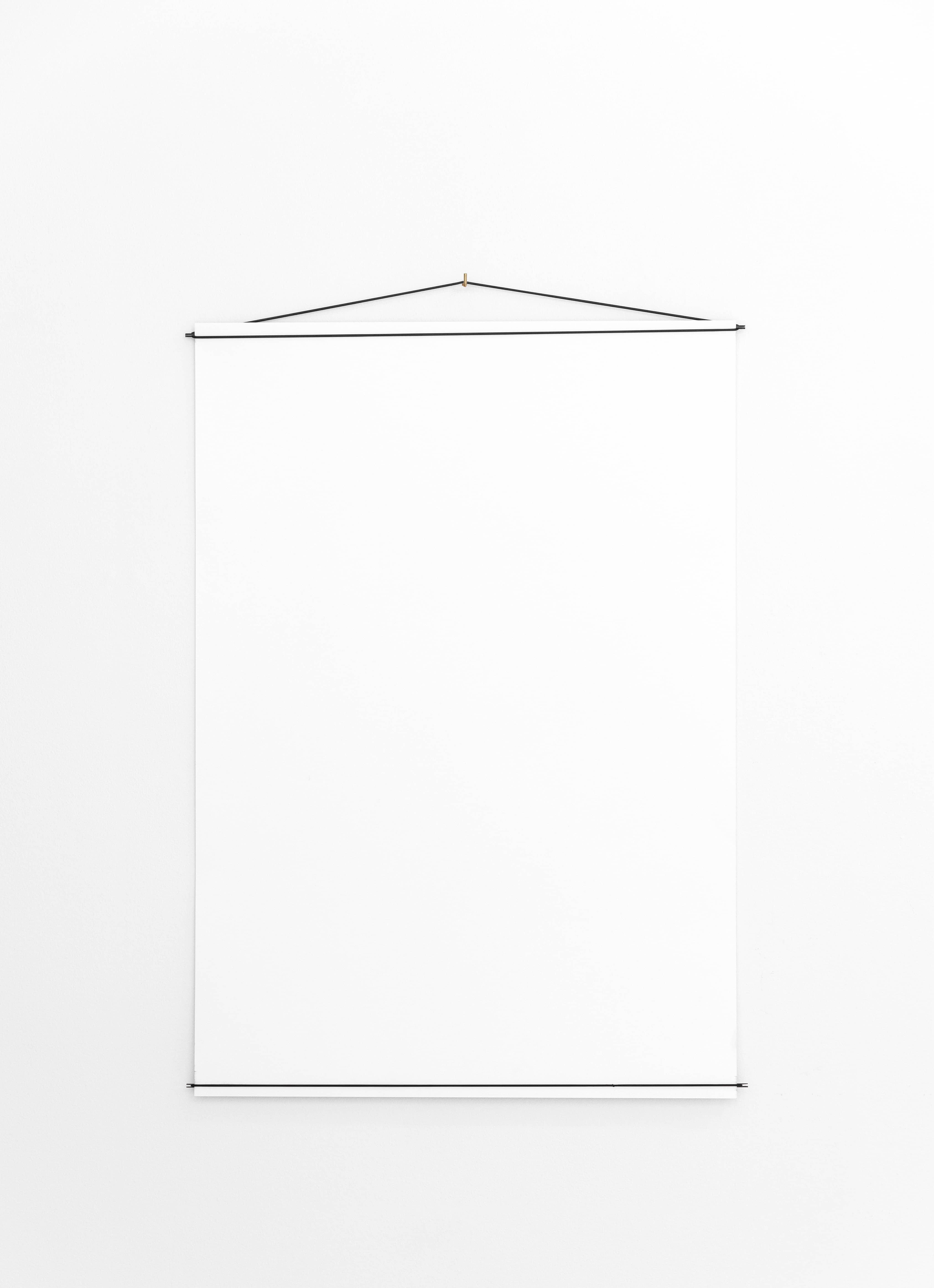 moebe poster hanger brass 70x100cm volta vienna. Black Bedroom Furniture Sets. Home Design Ideas