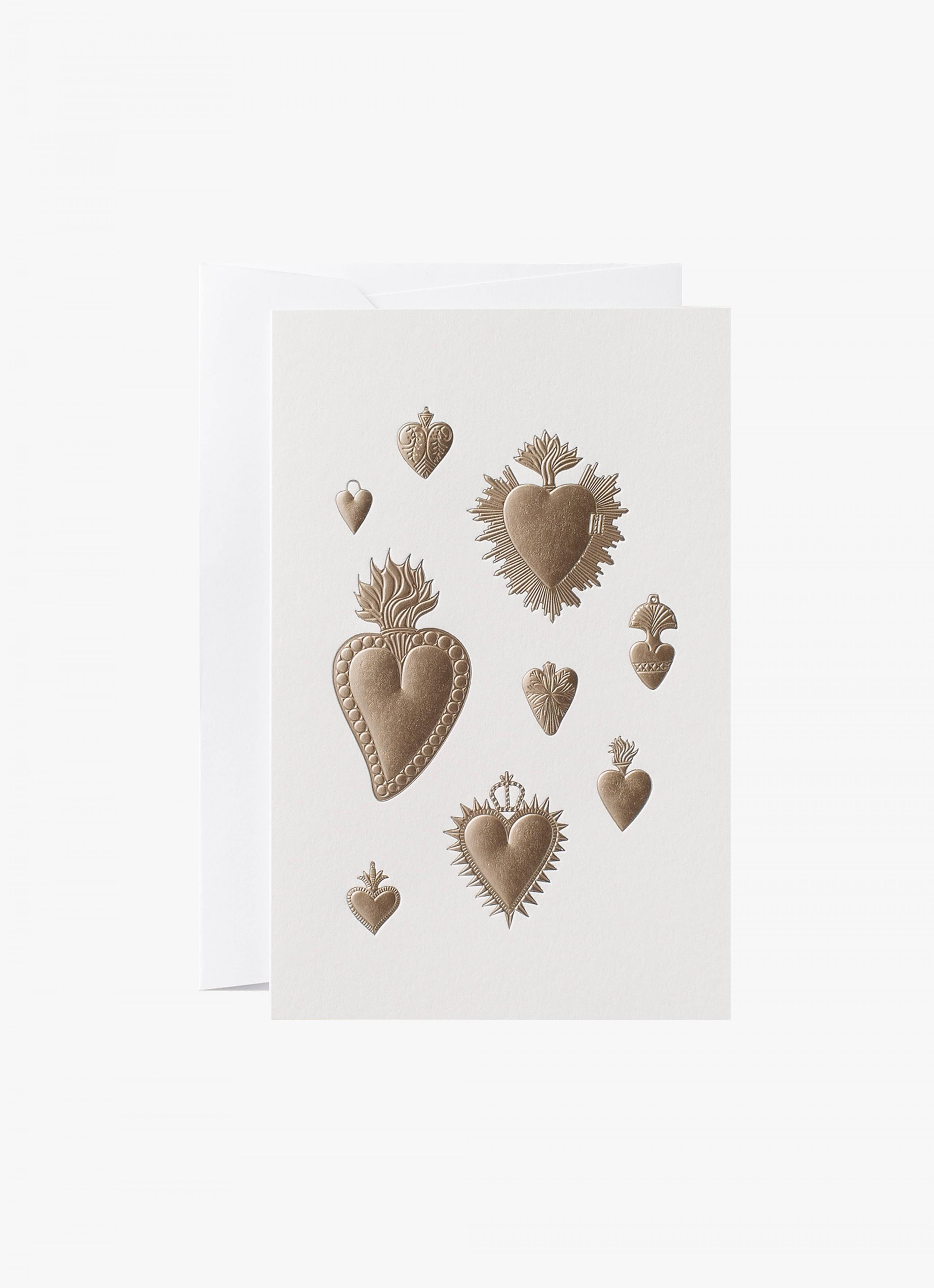 Noat - Card - Heart Milagros