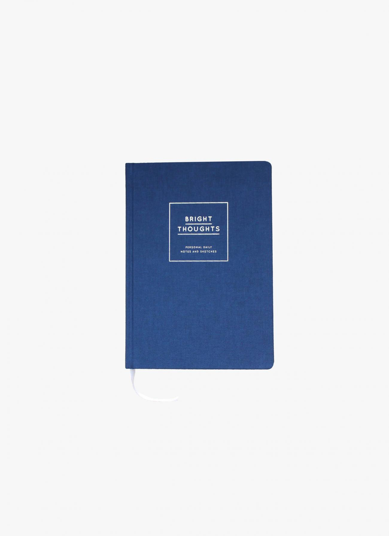 Navucko - Notebook - Bright Thoughts - Dark Blue