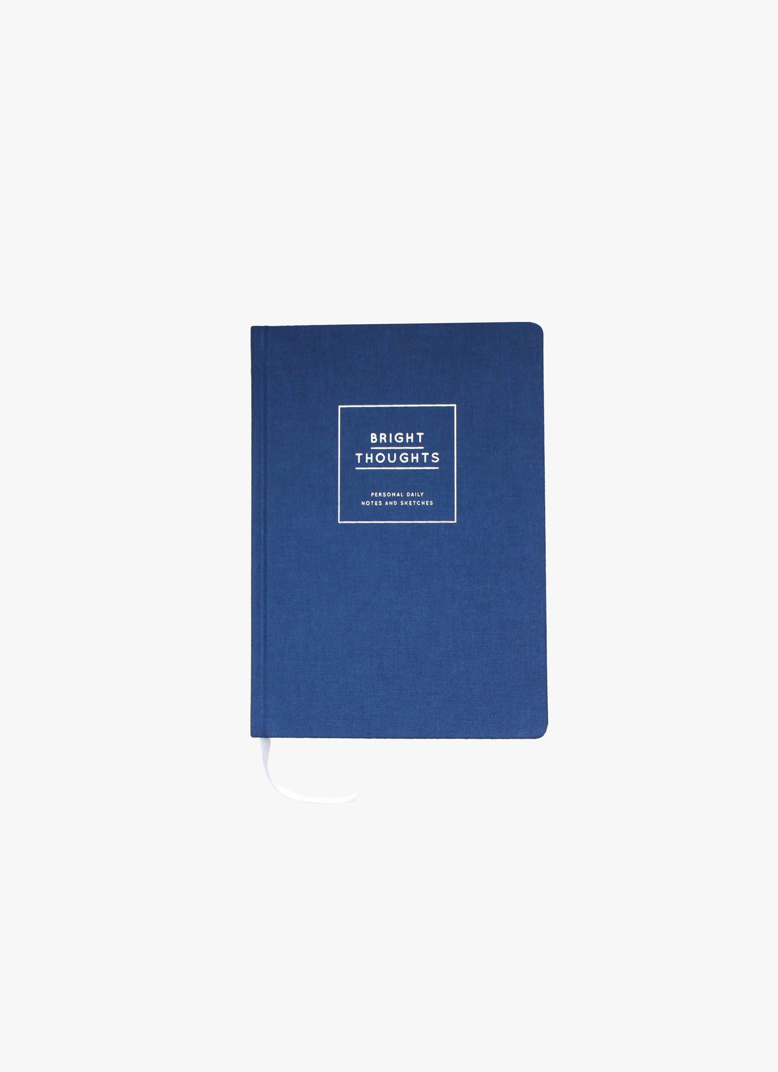Navucko - Notebook - Bright Thoughts - Dark Blue