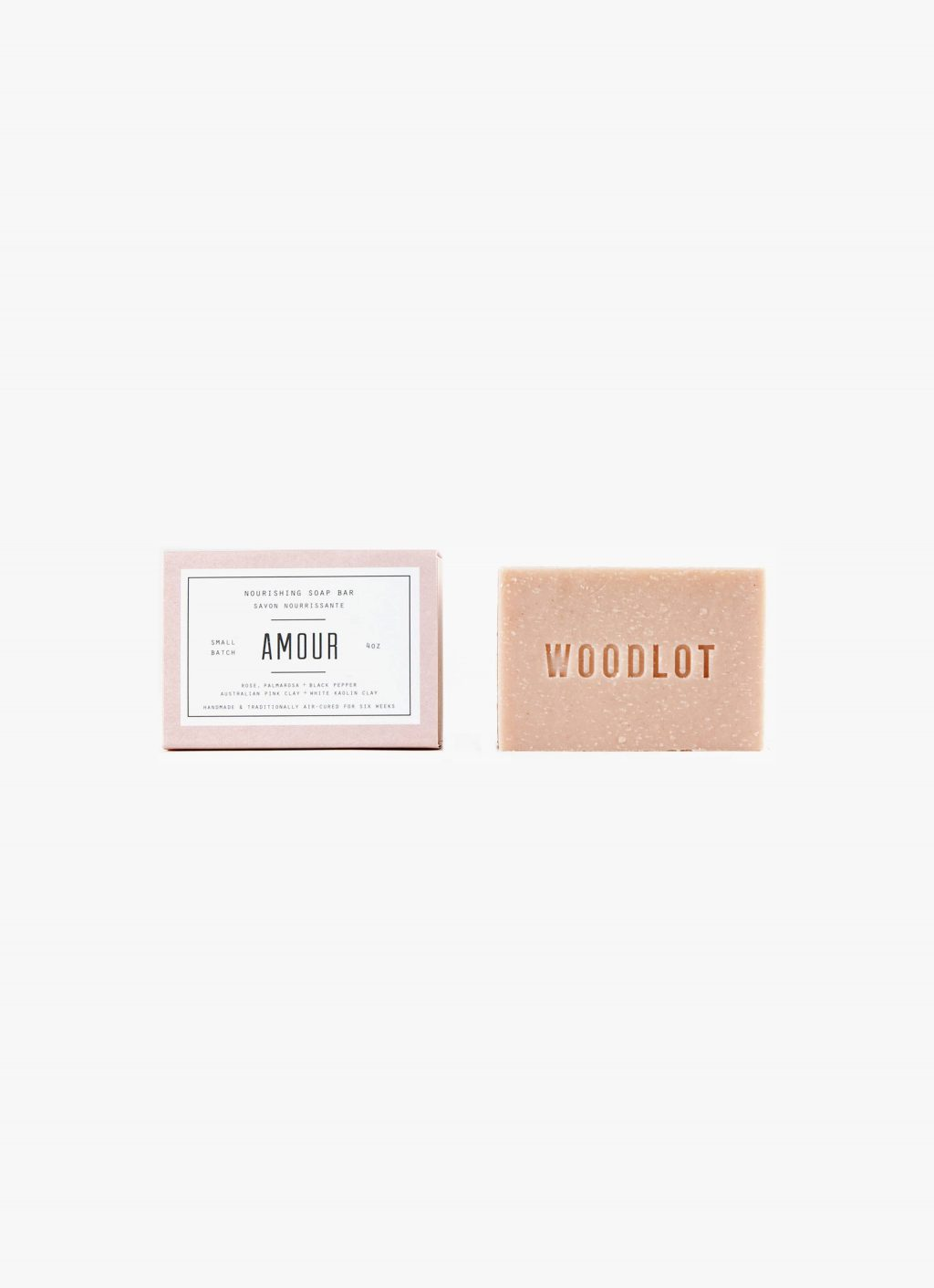Woodlot - 4OZ- Soap Bar - Amour