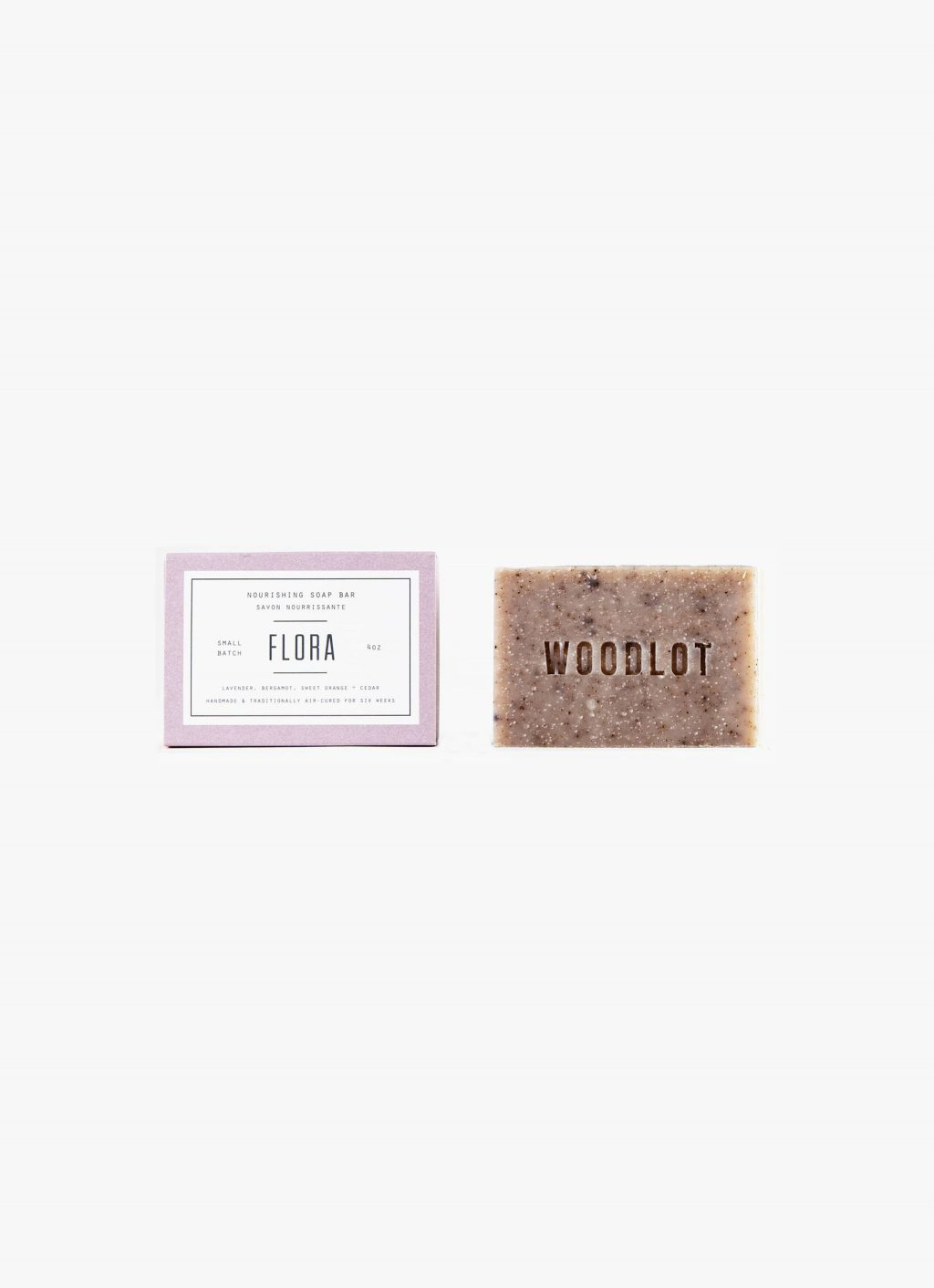 Woodlot - 4OZ- Soap Bar - Flora