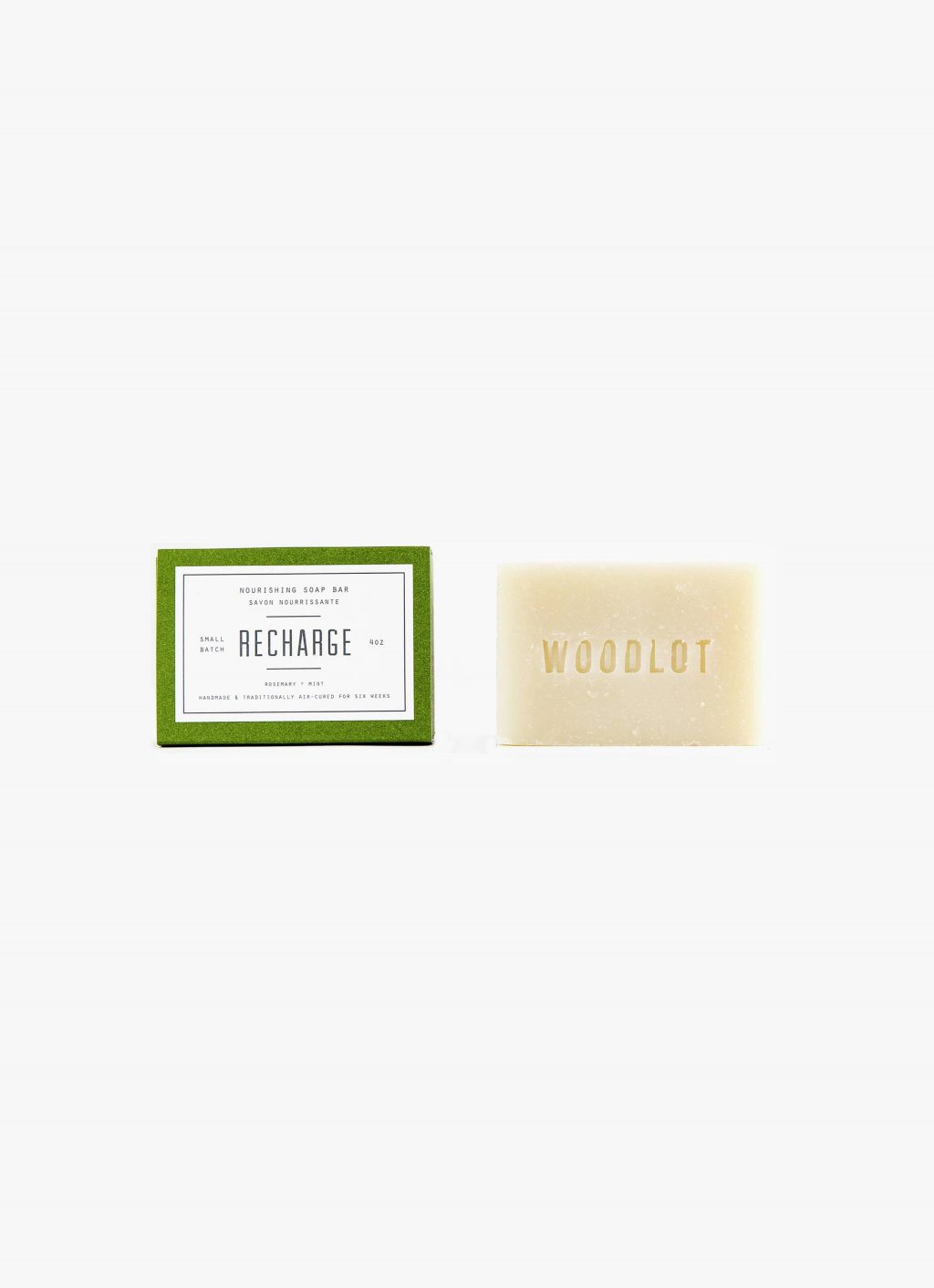Woodlot - 4OZ- Soap Bar - Recharge