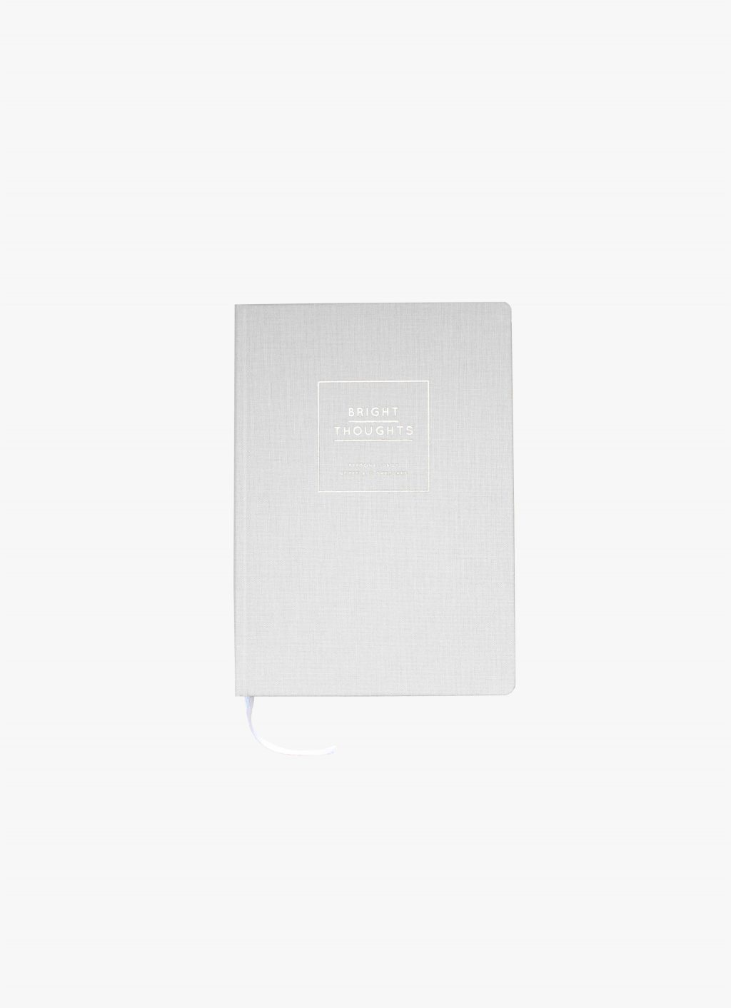 Navucko - Notebook - Bright Thoughts - Grey