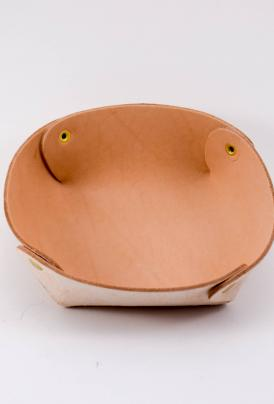 Raw and Order – Raw Leather Bowl