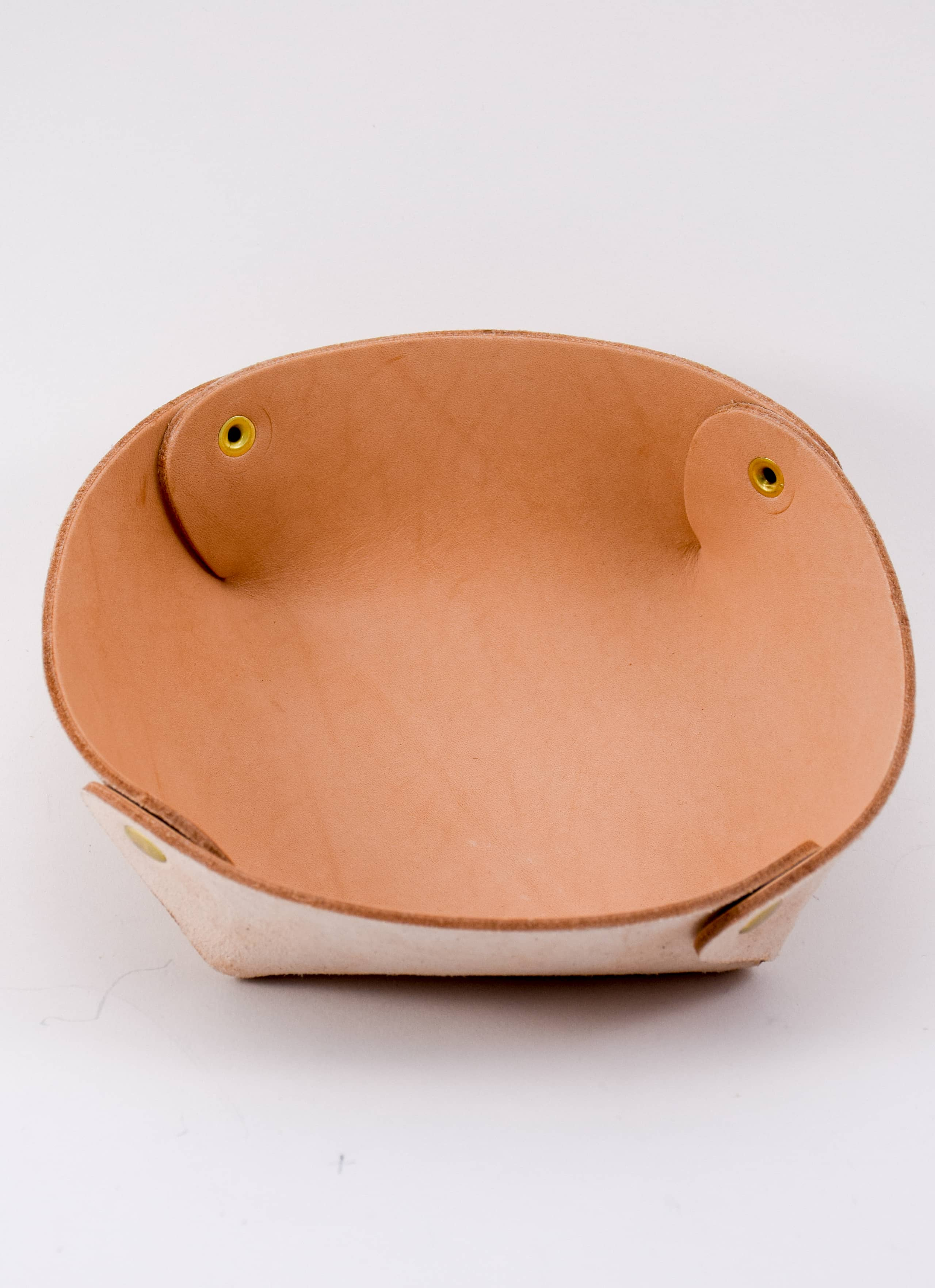 Raw and Order - Raw Leather Bowl