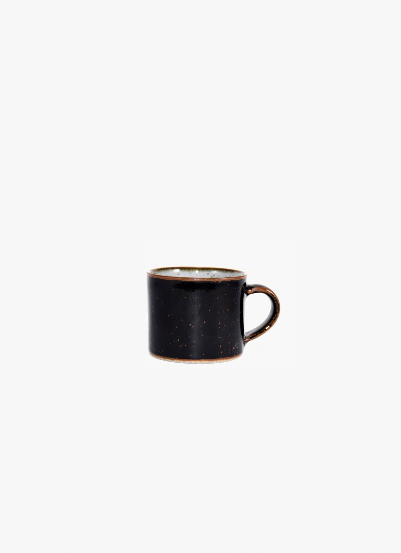 James and Tilla Waters - Thrown Stoneware - Espresso cup - Tenmoku