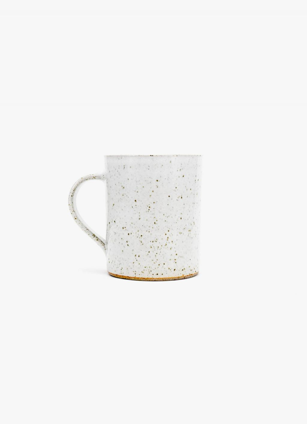 James and Tilla Waters - Thrown Stoneware - Mug - White glaze