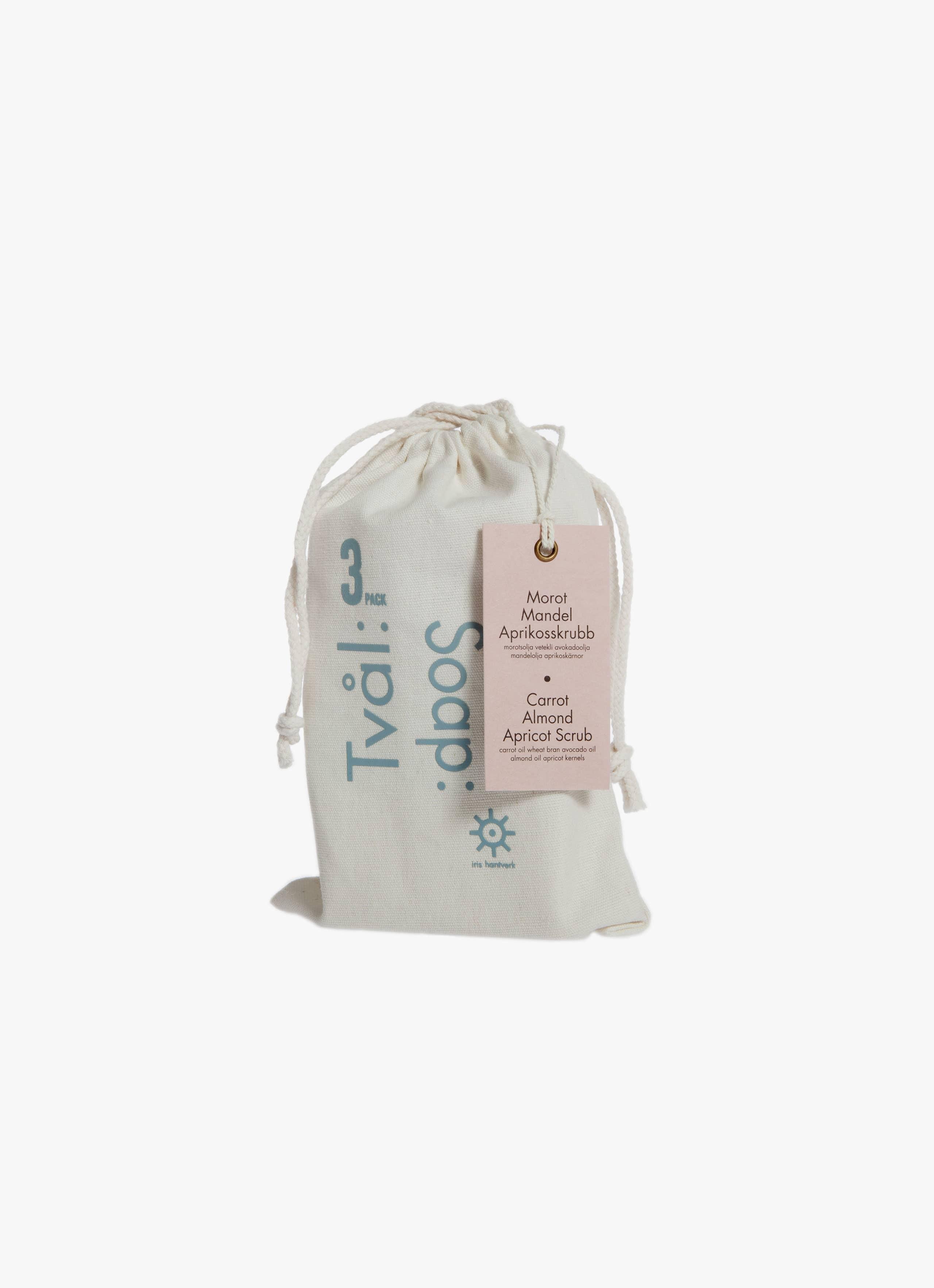 Iris Hantverk - Soap 3-Pack - Lemongrass - Poppy - Lavender