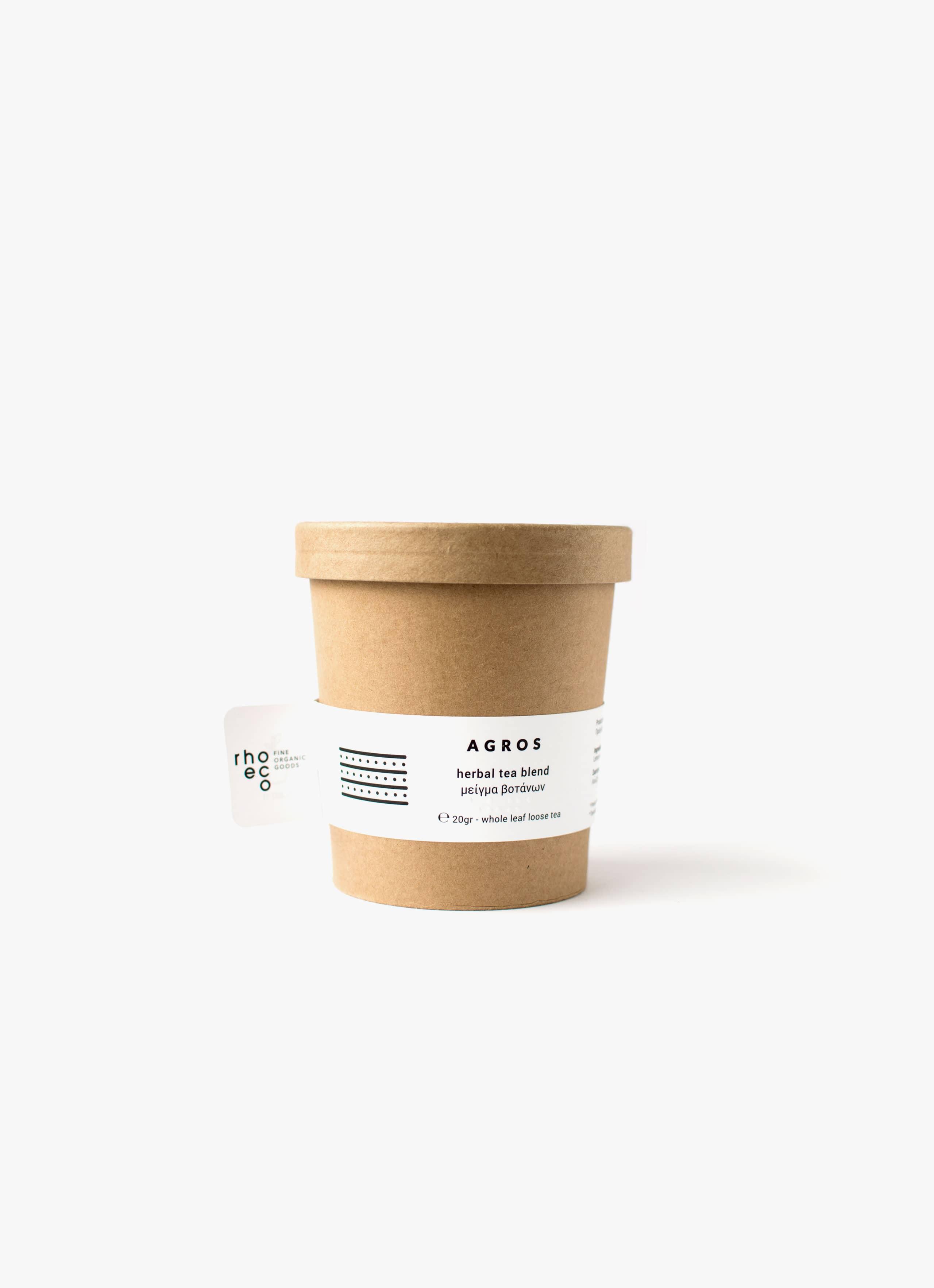 Rhoeco - Organic Tea - Drink it - Plant it - Agros