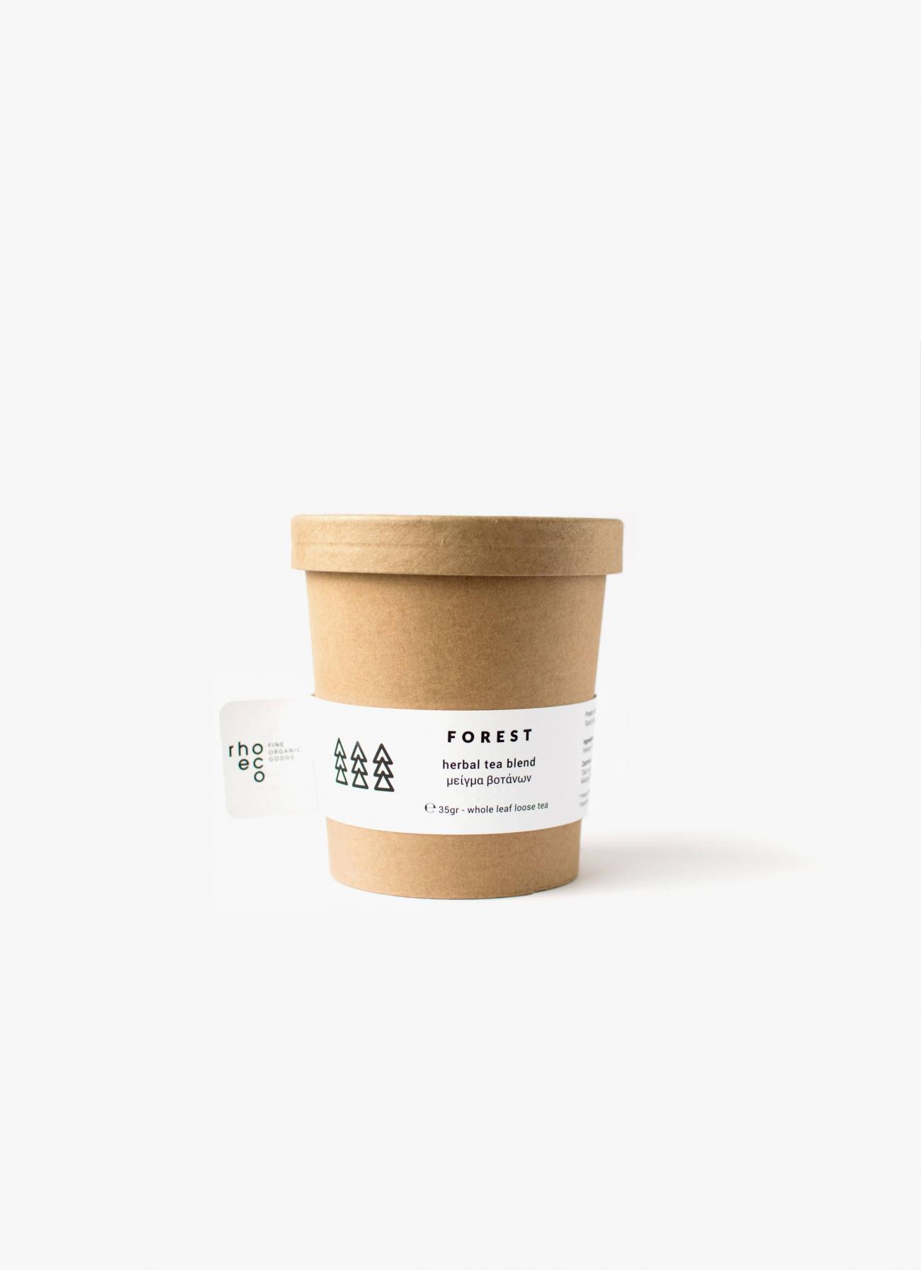Rhoeco - Organic Tea - Drink it - Plant it - Forest