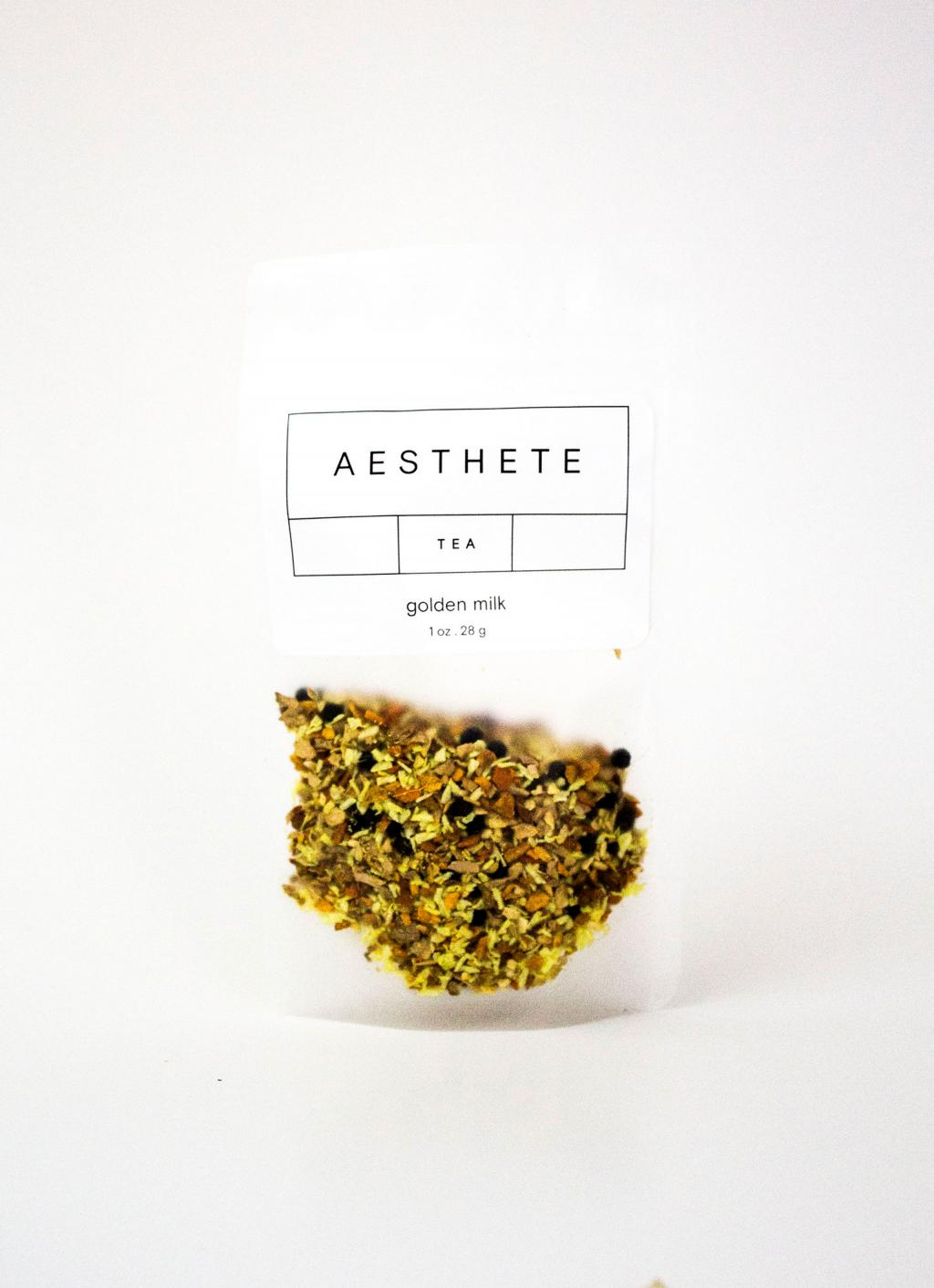 Aesthete Tea - Organic and Fair Trade Tea - Golden Milk