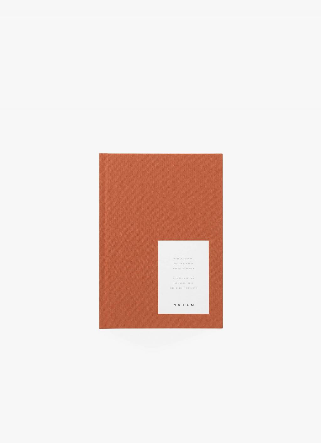 Notem - Even Weekly Journal - Sienna Cloth