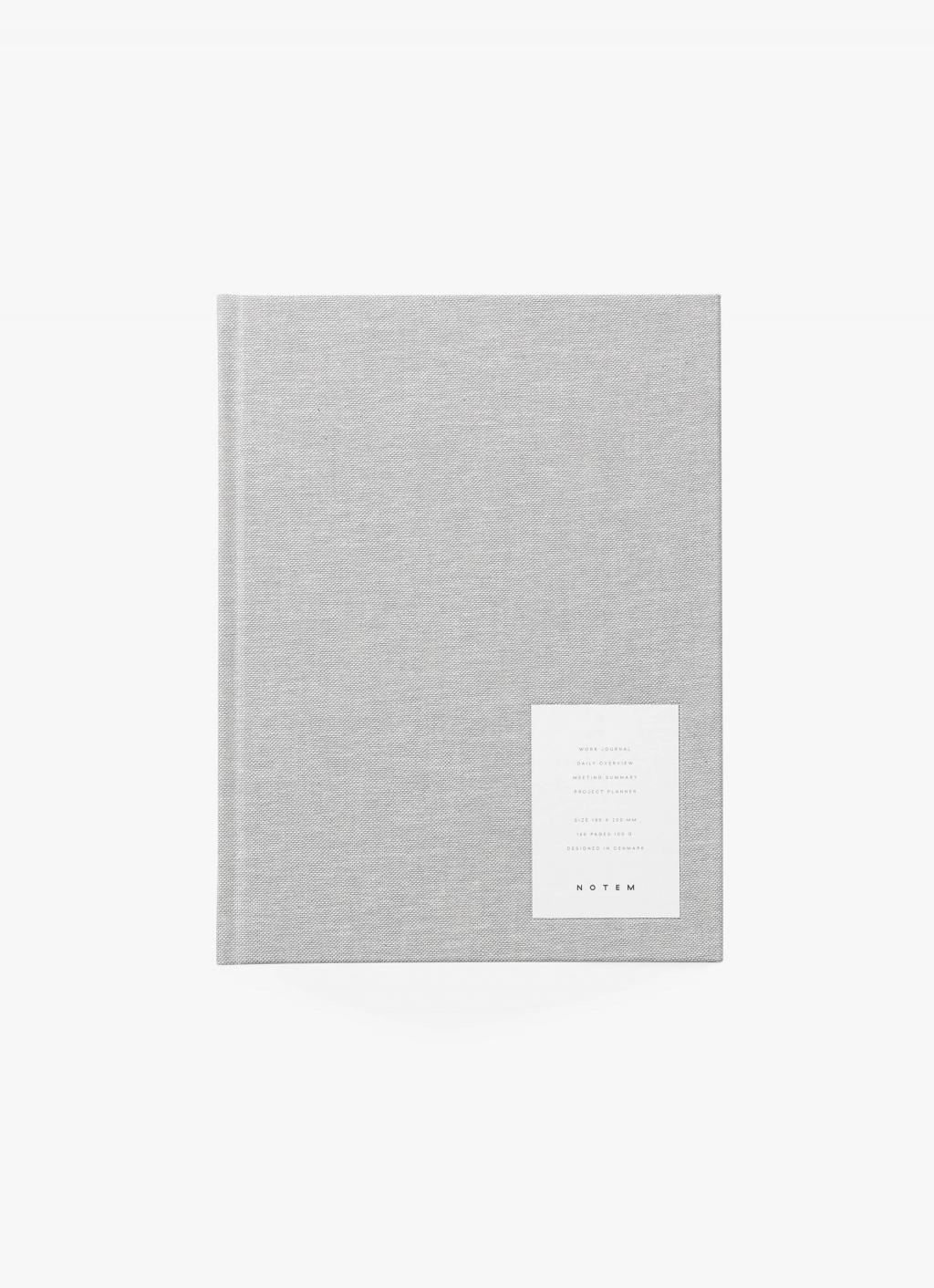 Notem - Even Work Journal - Grey Cloth