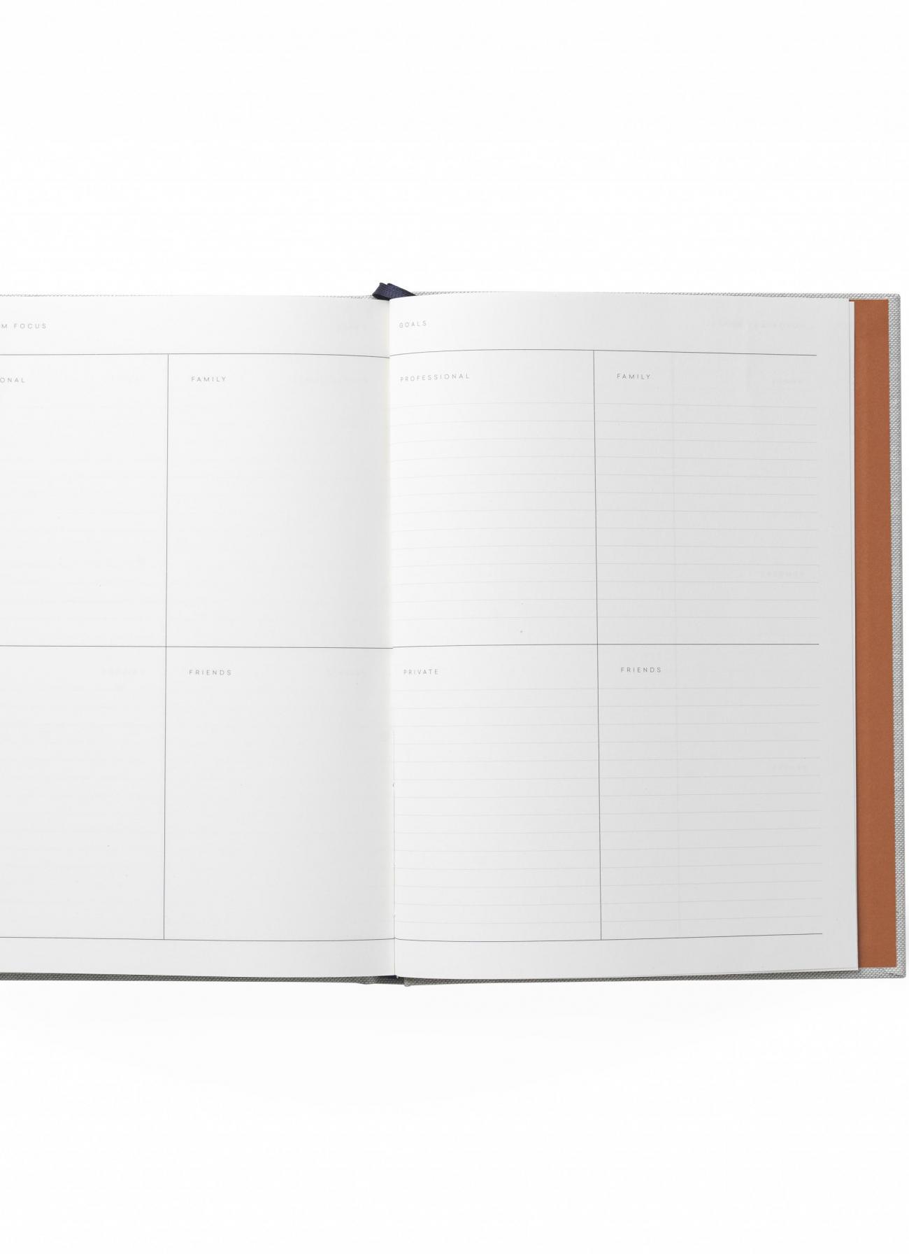 Notem - Even Work Journal - Grey Cloth