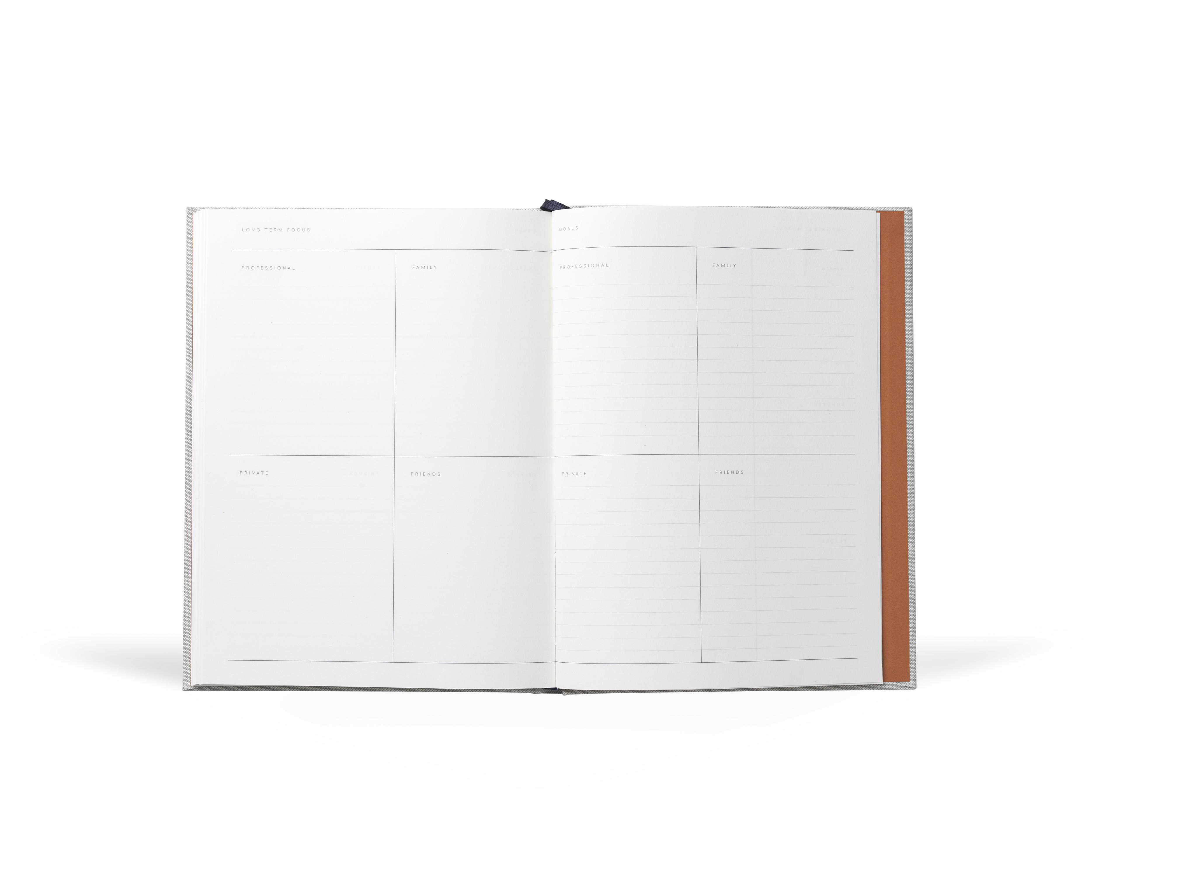 Notem – Even Work Journal – Grey Cloth