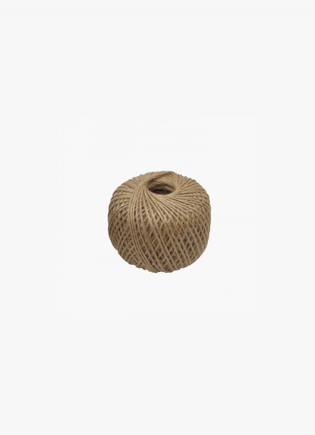 Creamore Mill Jute Twine Ball 250g Natural