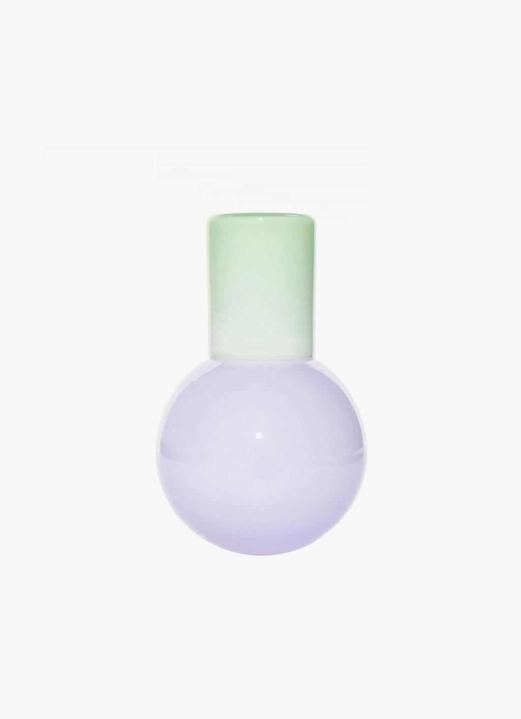 Anna Karlin - Bedside Carafe - Purple and Mint