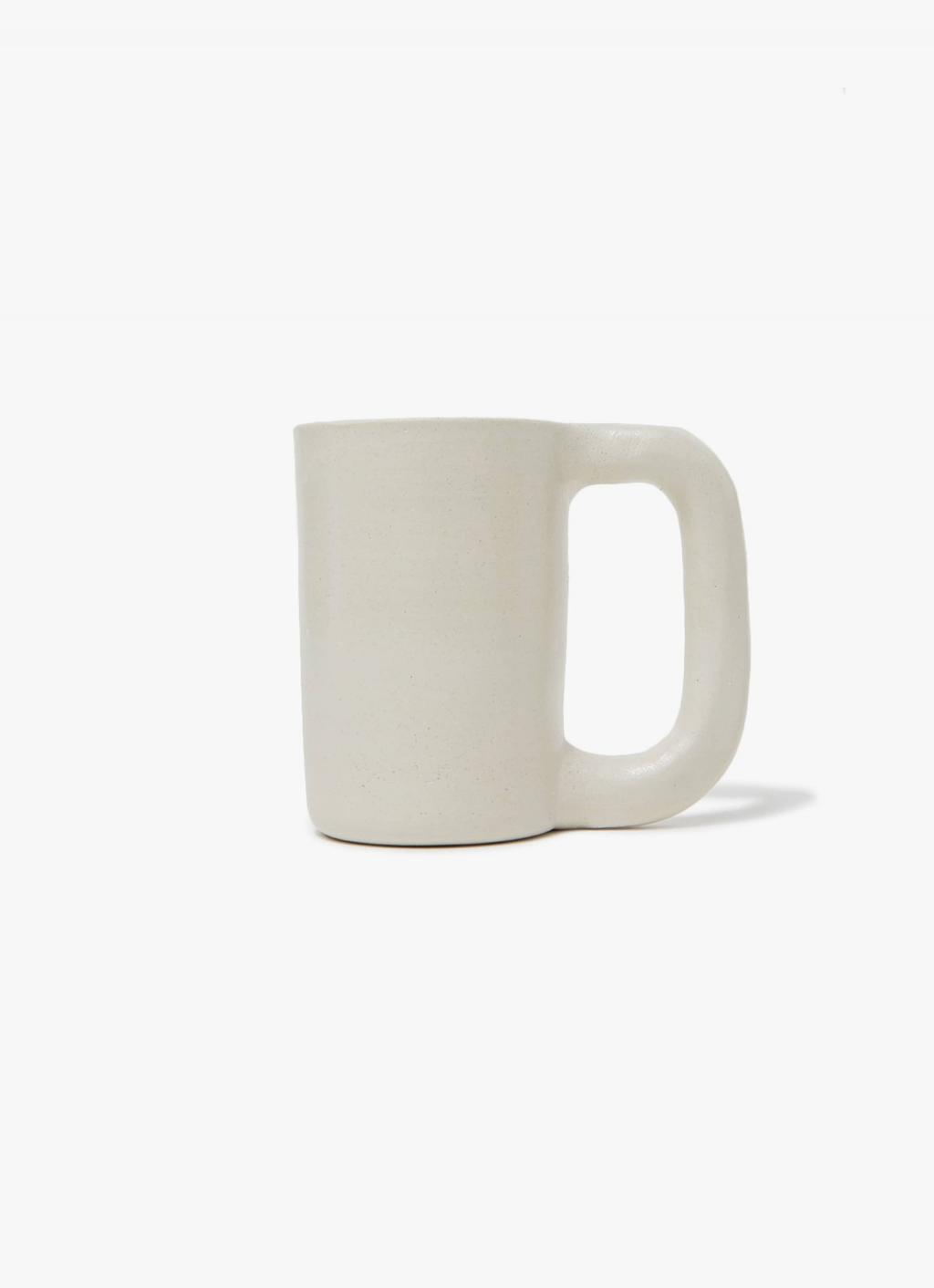 Workaday Handmade - White Tall Mug