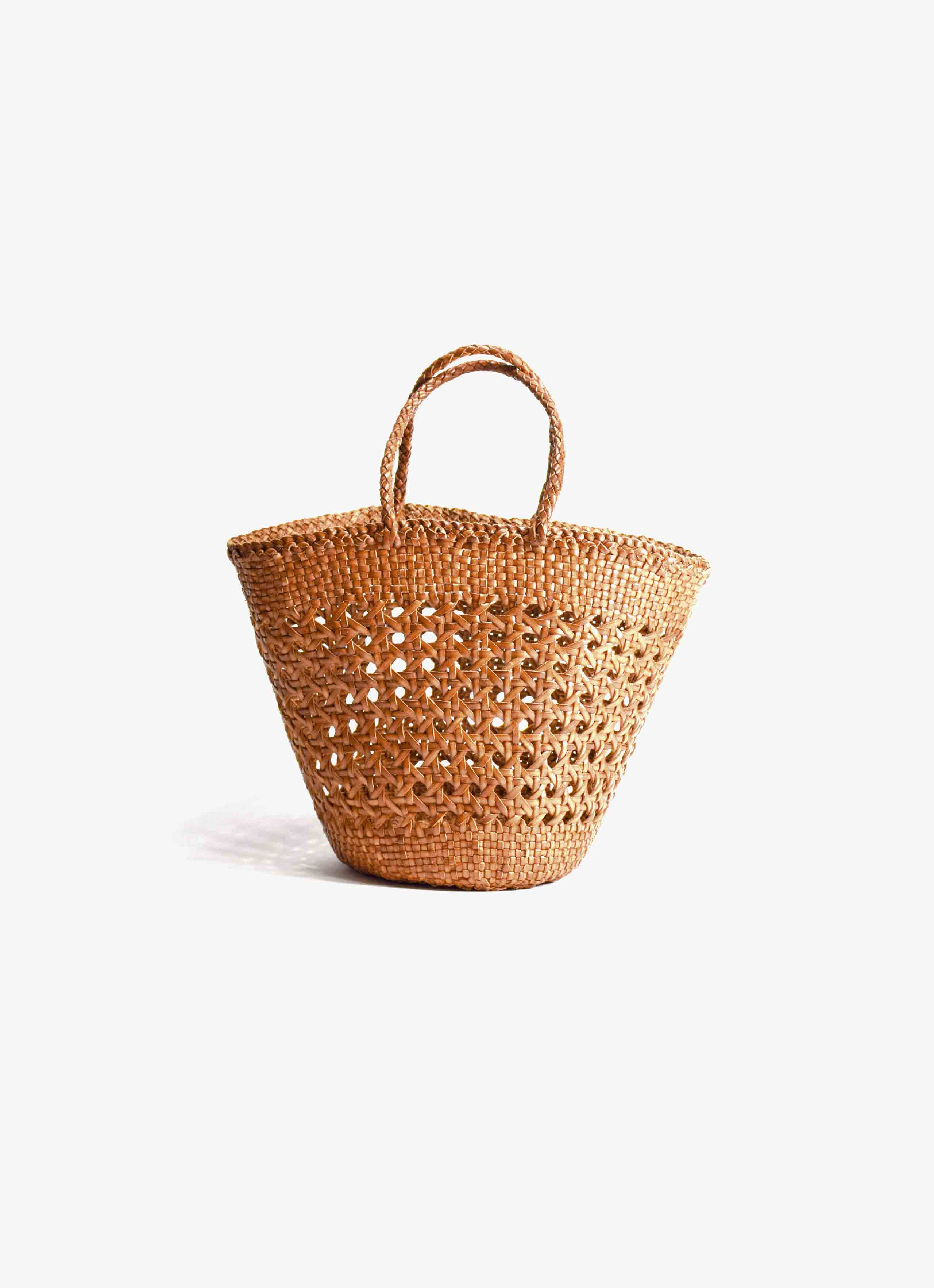 Dragon Diffusion - Cannage Myra - Leather Basket Bag