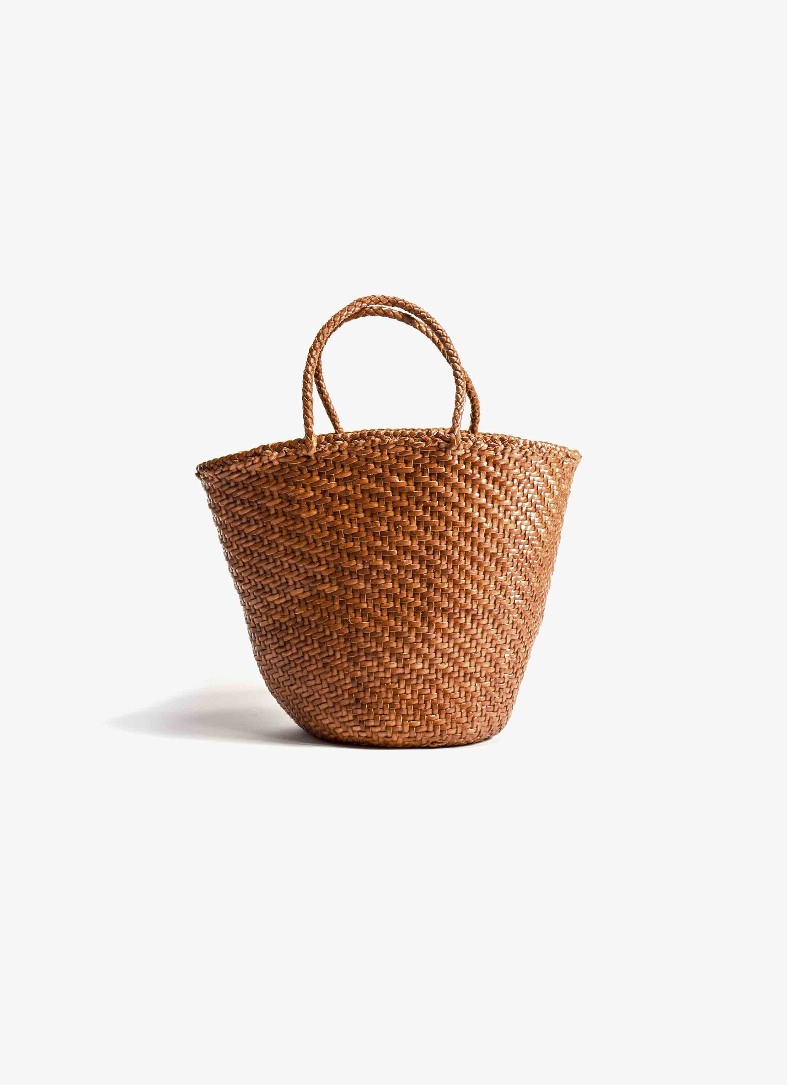 Dragon Diffusion - Weave Myra - Leather Basket Bag