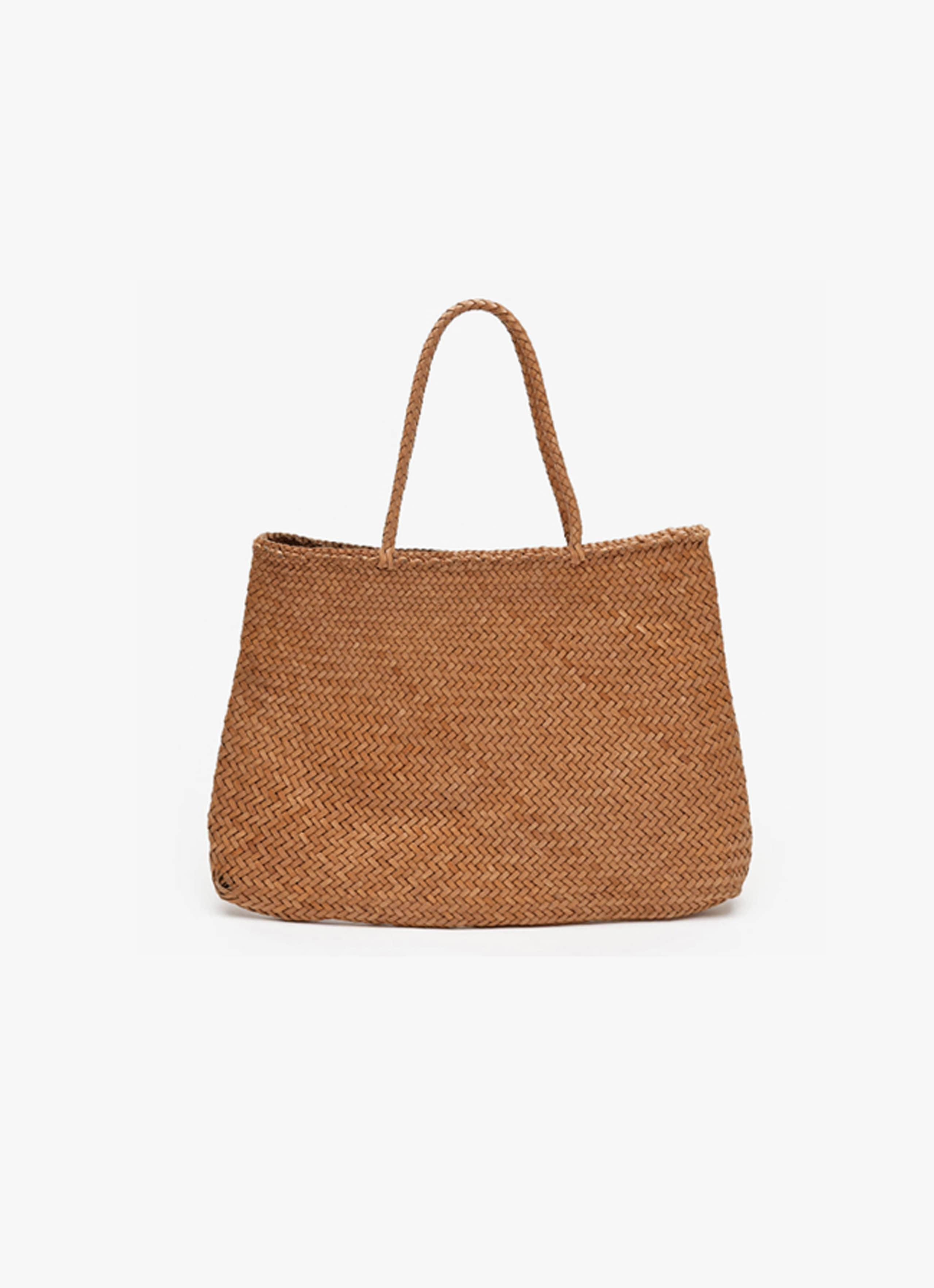 Dragon Diffusion - Leather Wicker Bag - Sophie Large