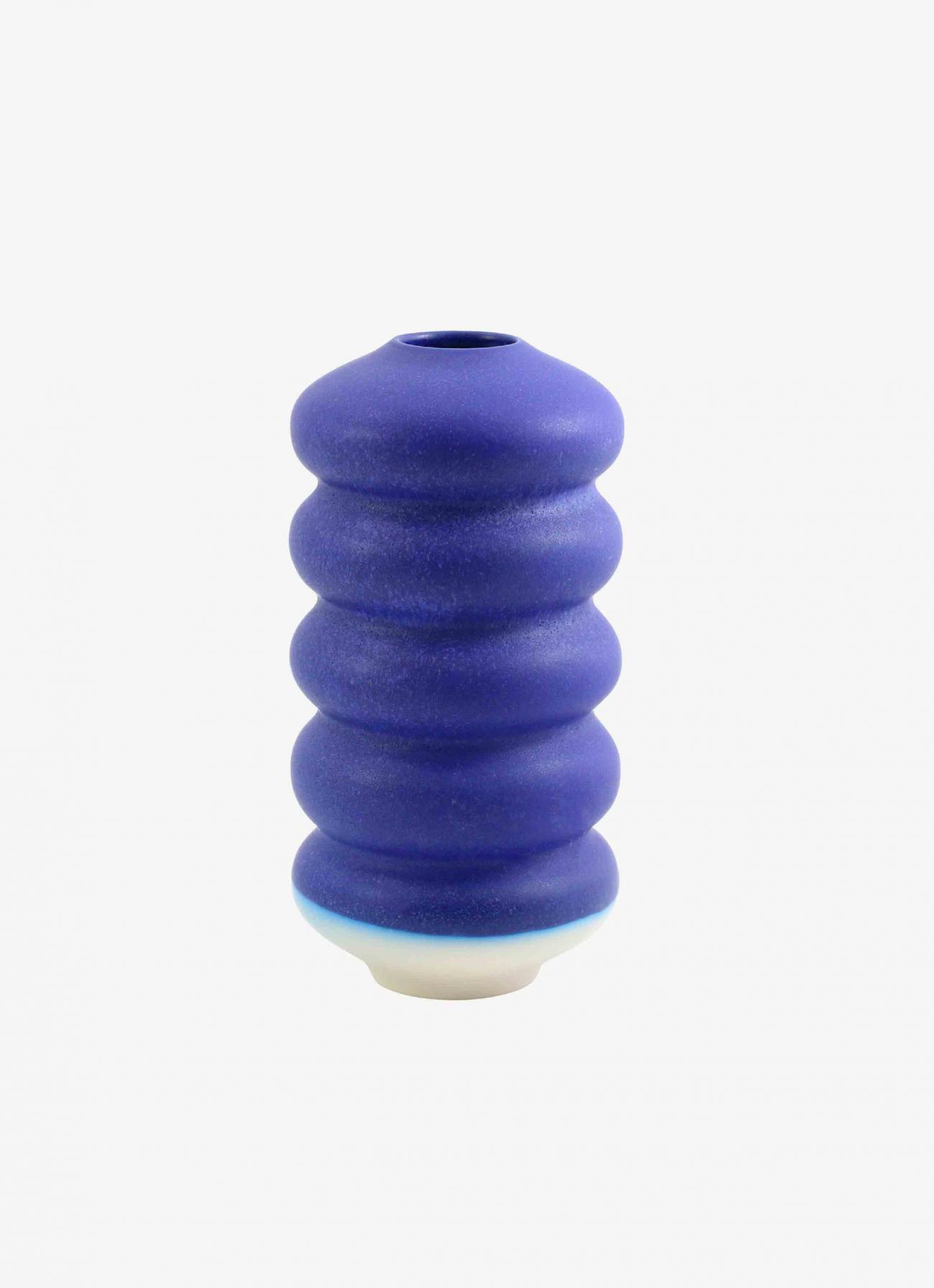 Studio Arhoj - Hana Vase - Large - Kiku Dark Blue
