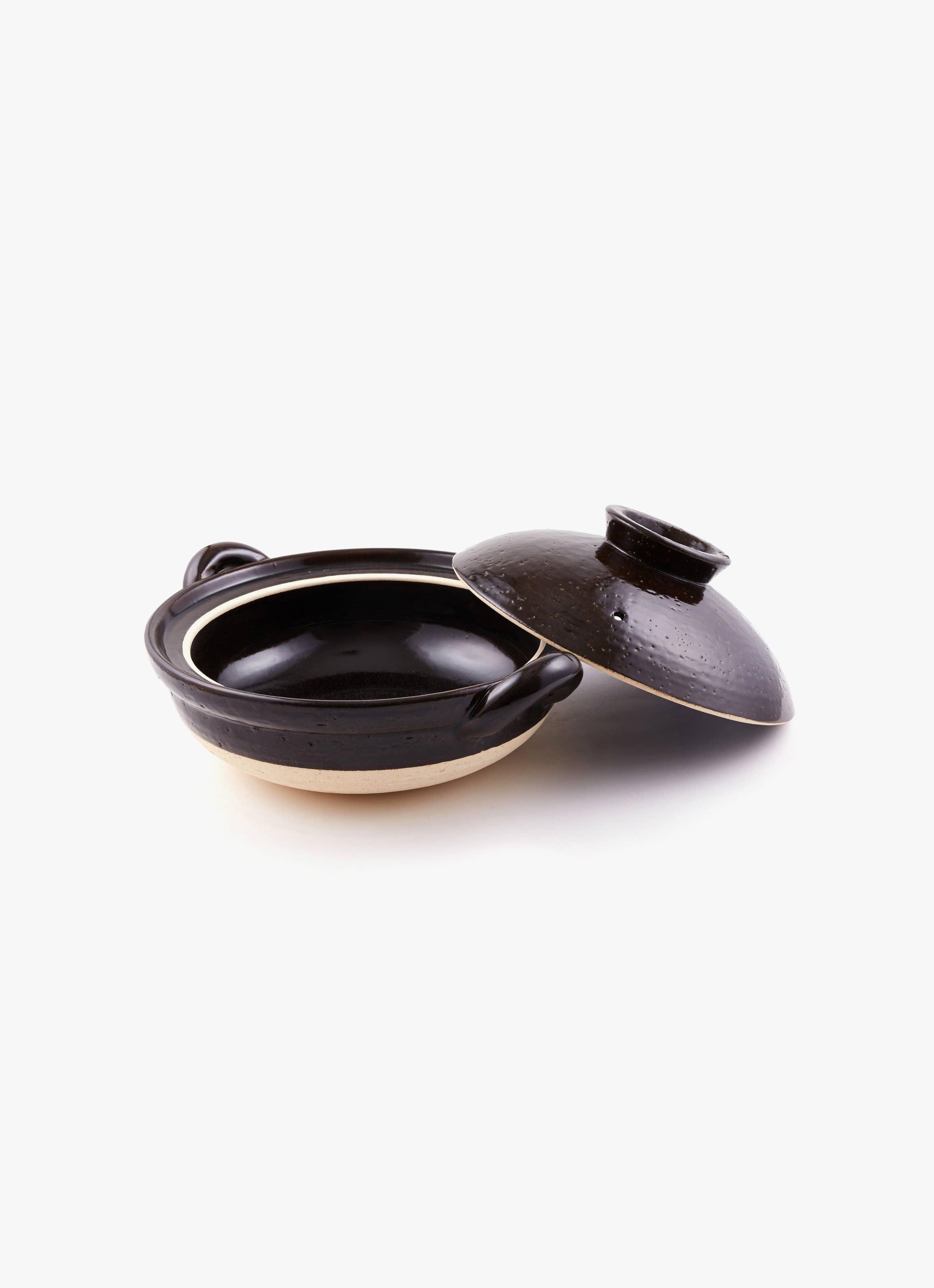 Donabe Pot - Classic style - black - large