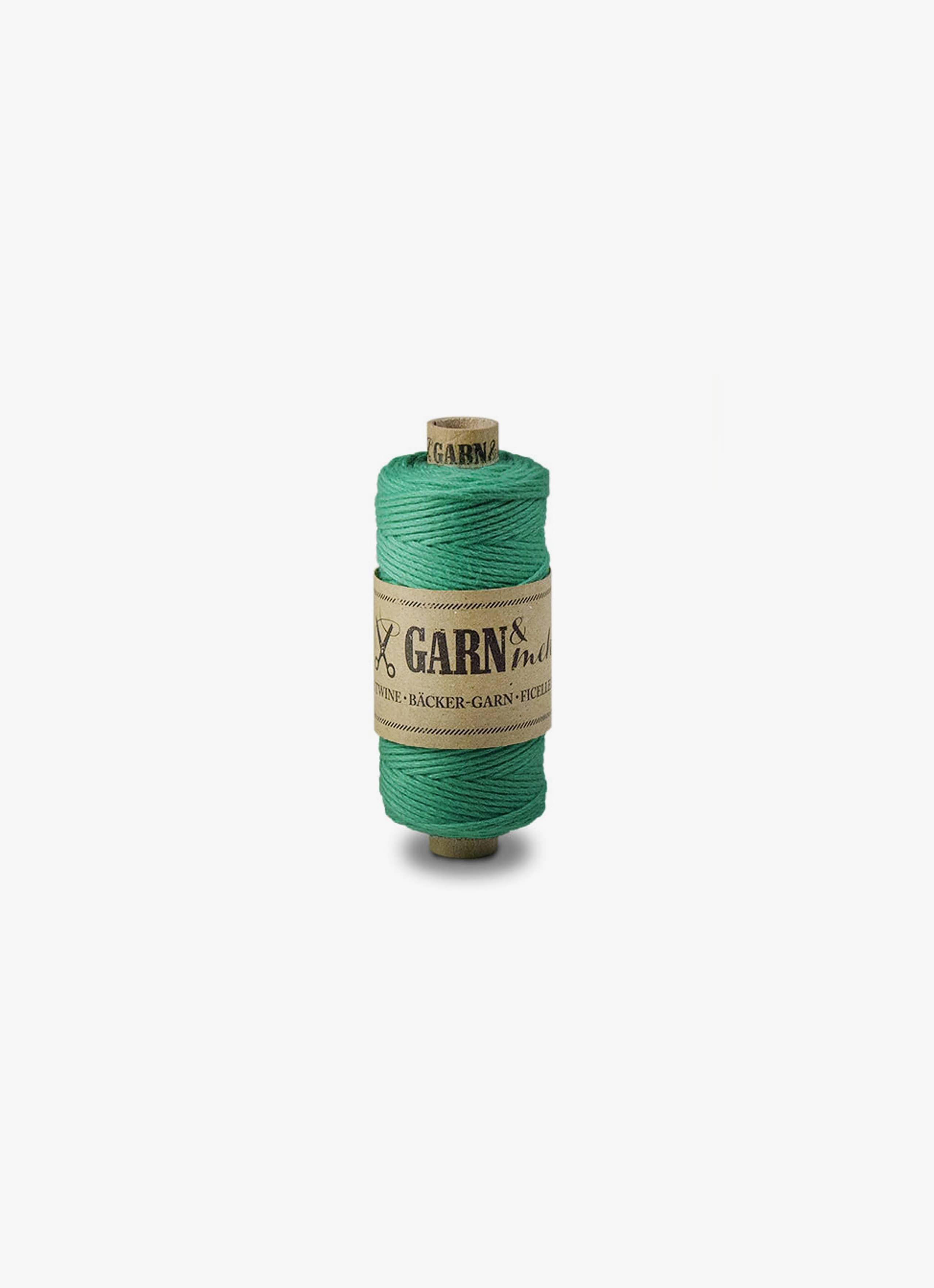 Bakers Twine - Emerald - Single Colour