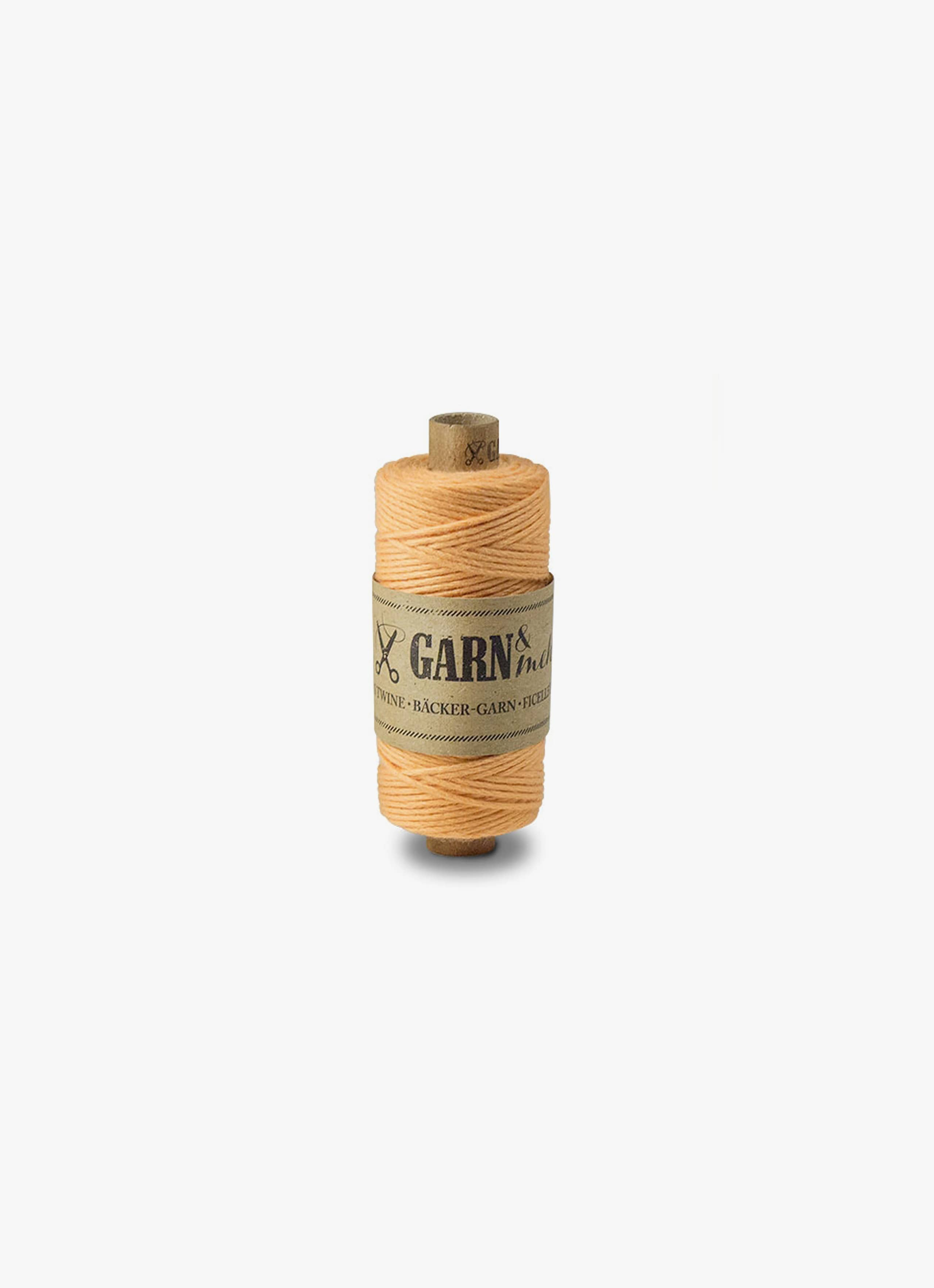 Bakers Twine - Peach - Single Colour