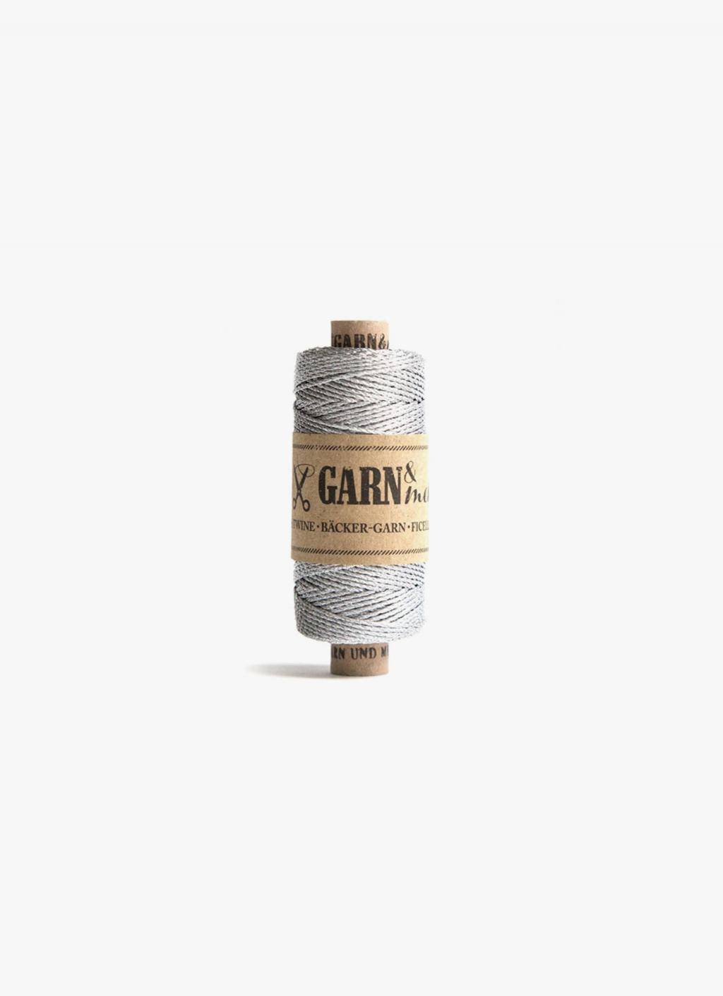 Bakers Twine - Silver - Single Colour