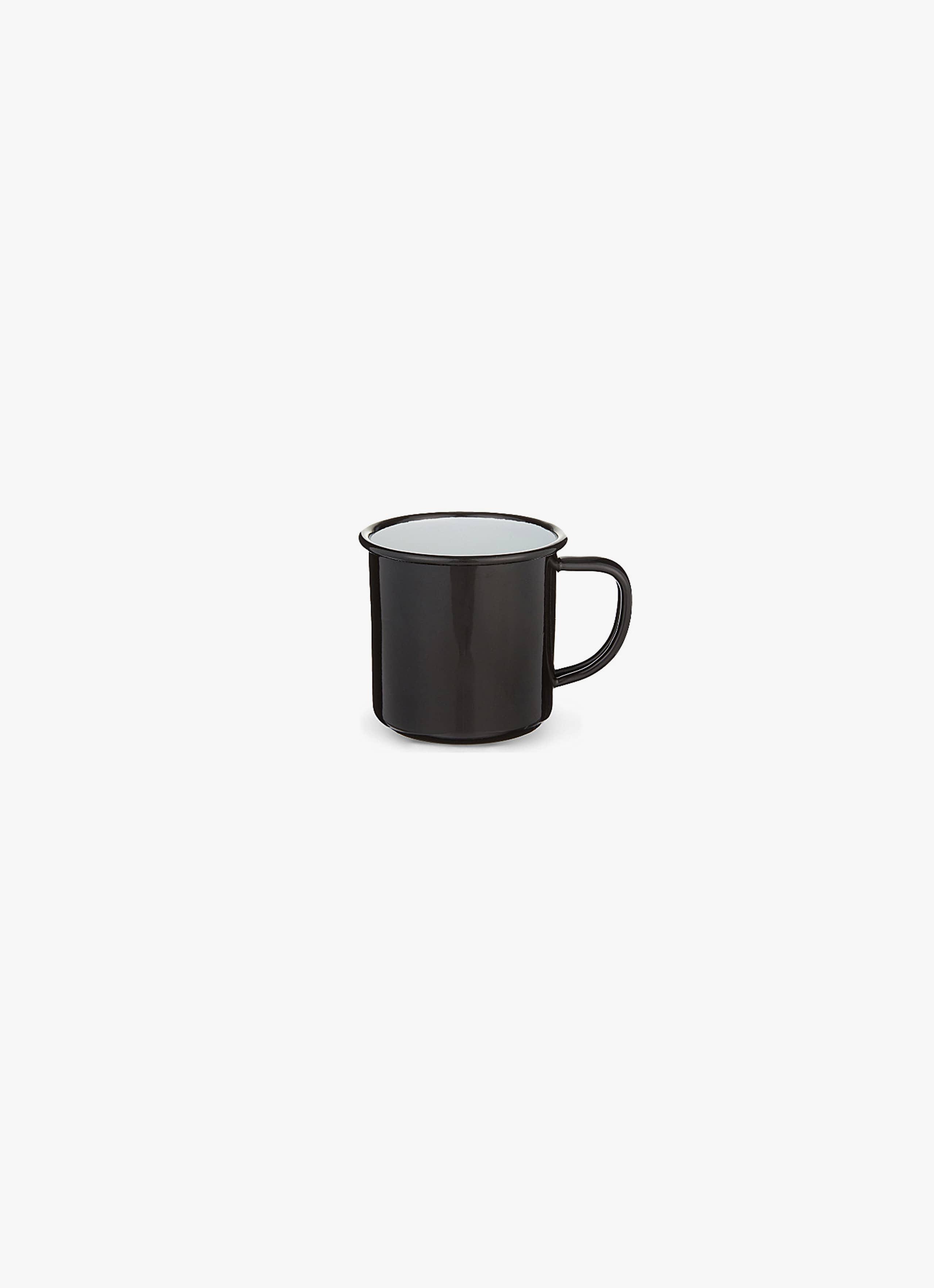 Falcon Enamelware - Espresso Cup - Coal Black