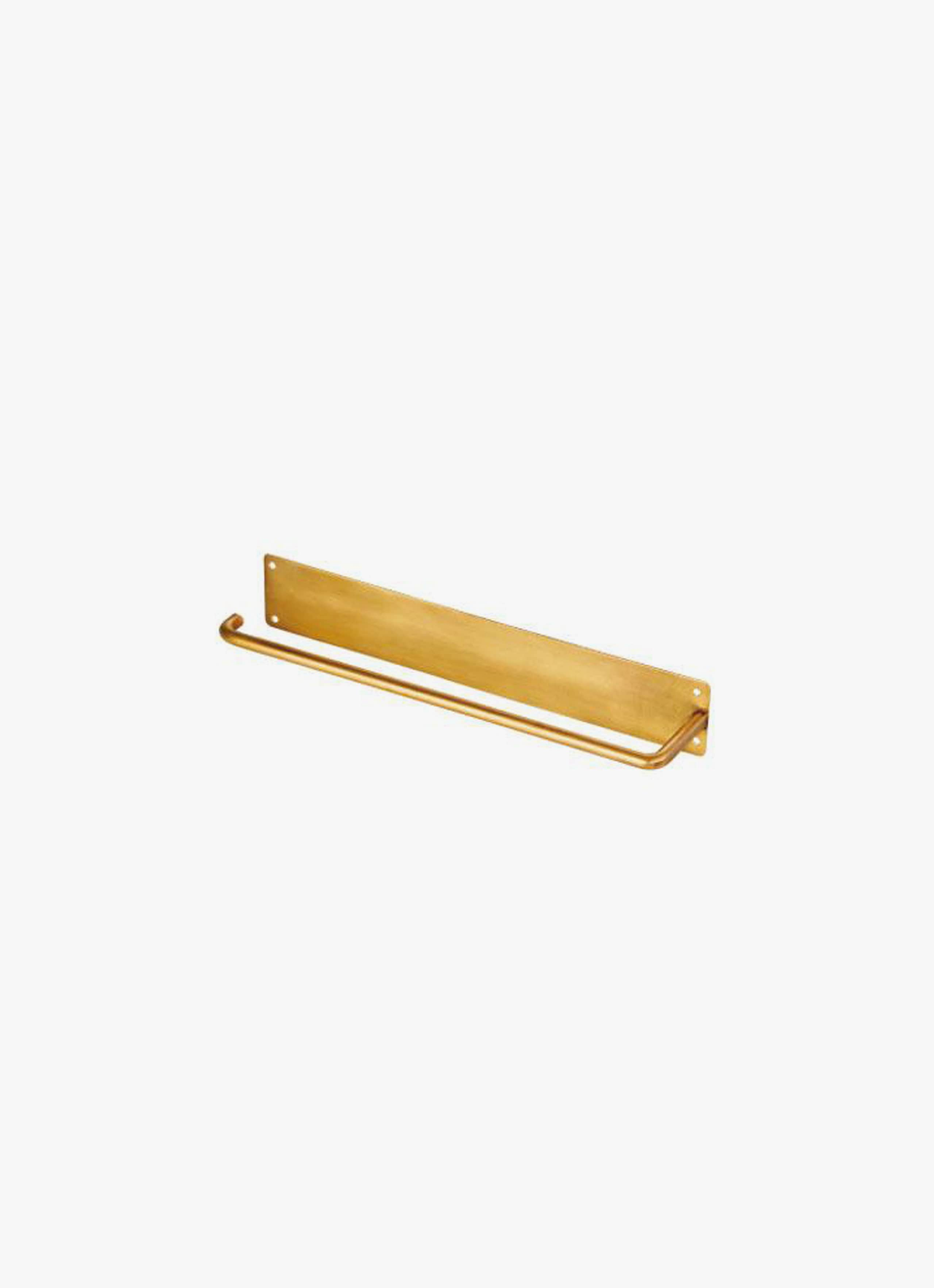 Fog Linen Work - Kitchen paper holder - brass