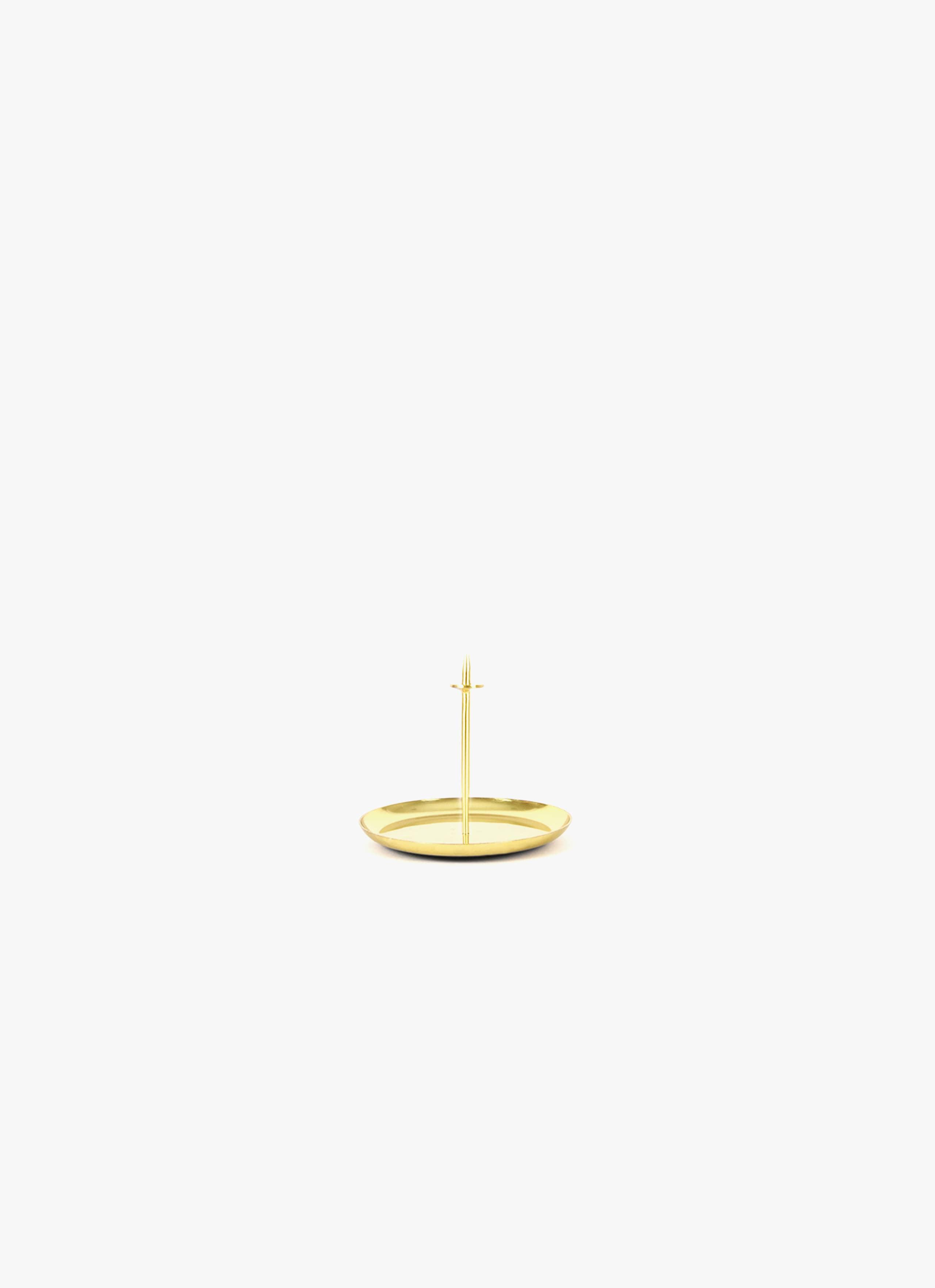 Eno Studio - Micro Candle Pin - brass - Set of two