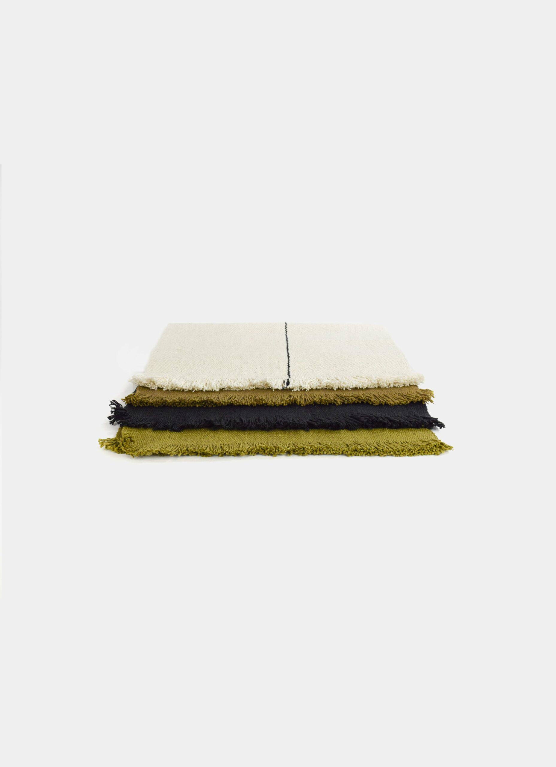 Que onda vos - Buen Provecho - Handwoven Placemat - various colors - 35 x 50cm