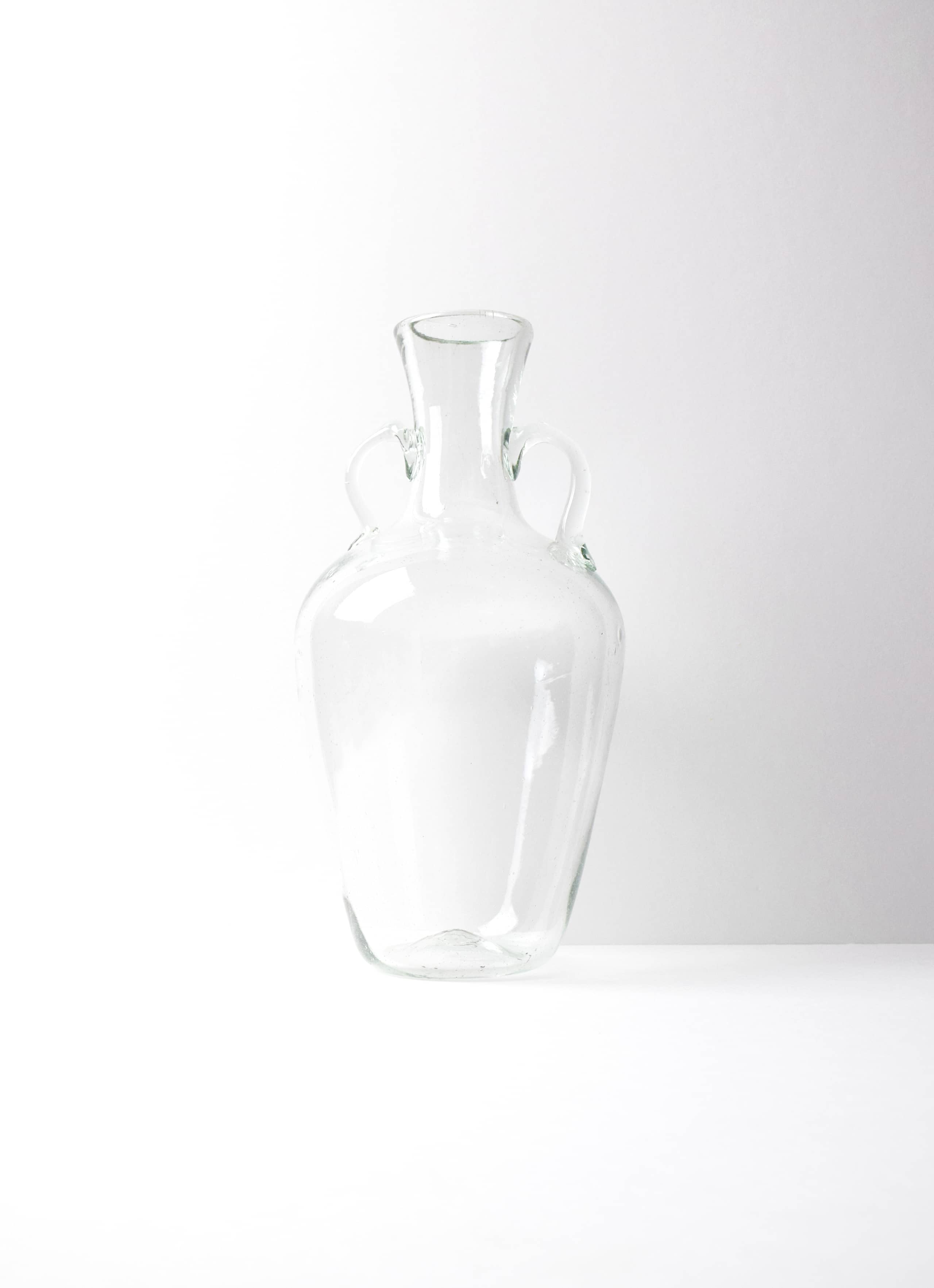 La Soufflerie - Amphora - Glass Jug - transparent